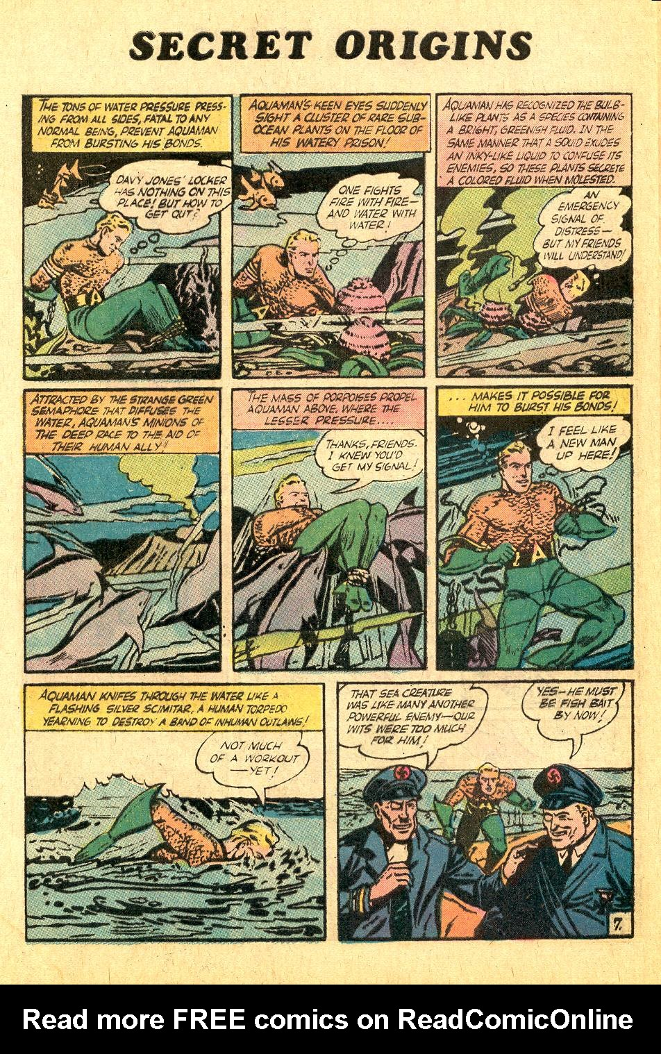 Read online Secret Origins (1973) comic -  Issue #7 - 31