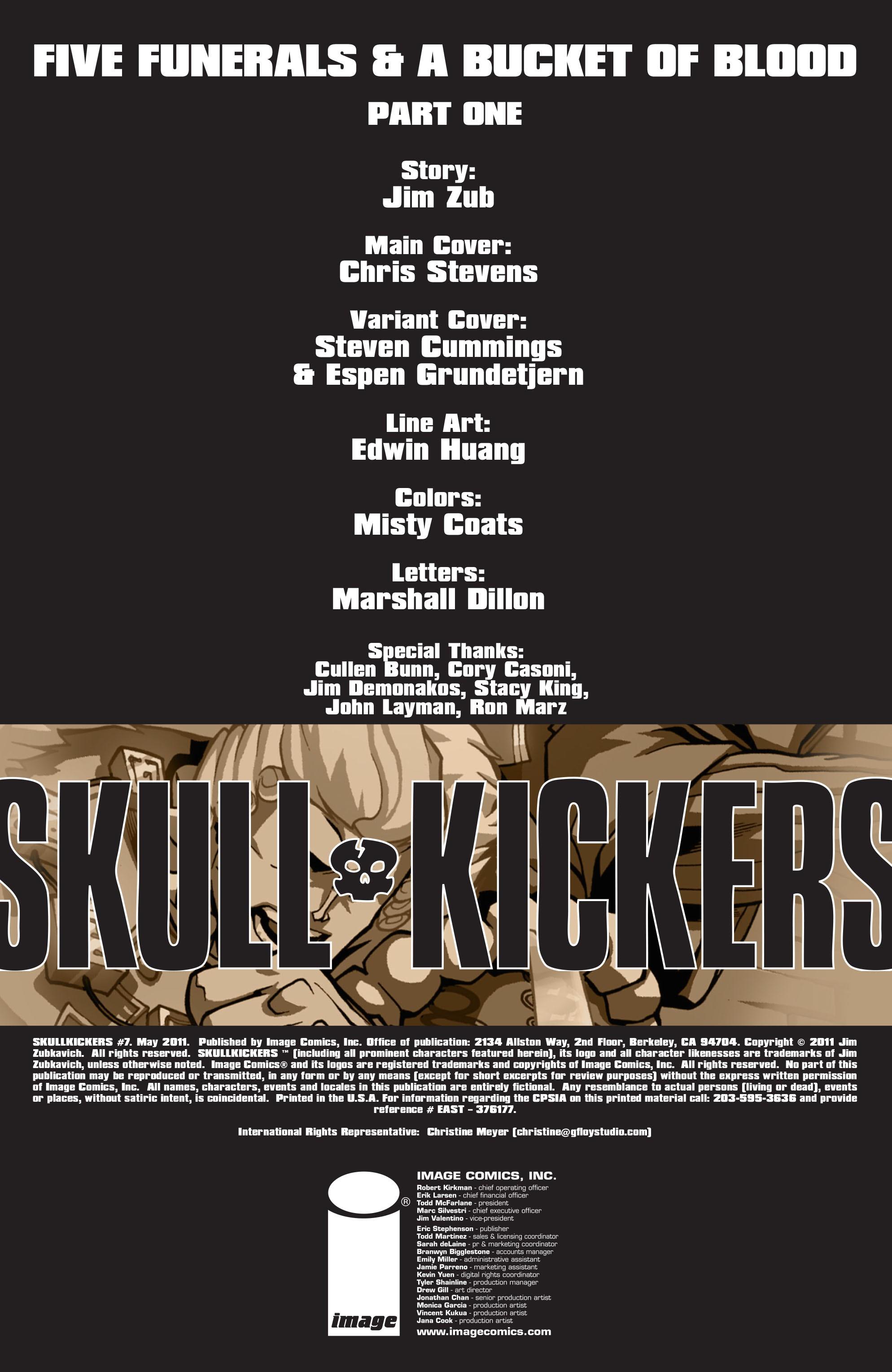 Read online Skullkickers comic -  Issue #7 - 2
