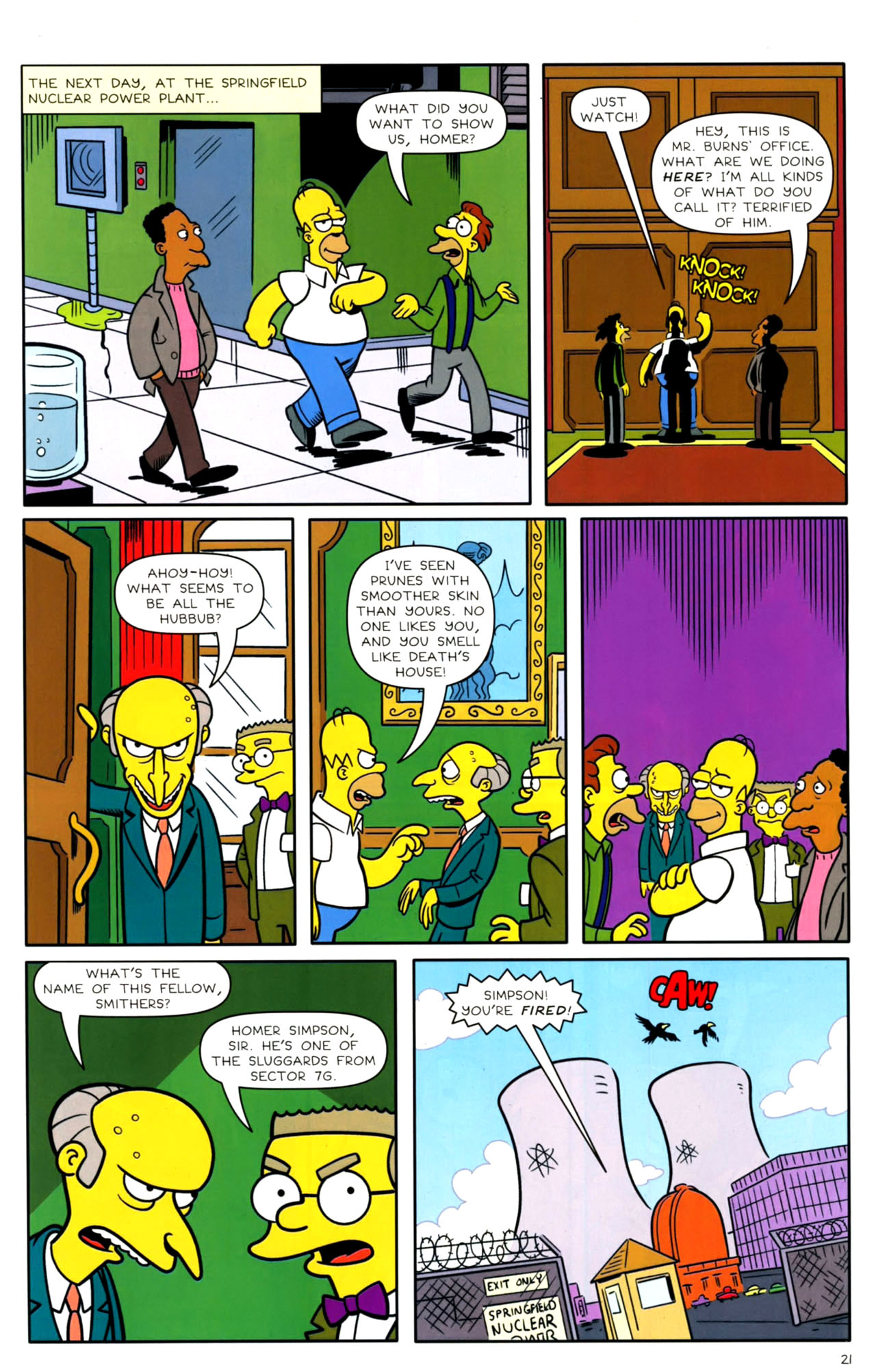 Read online Bongo Comics presents Comic Book Guy: The Comic Book comic -  Issue #4 - 23
