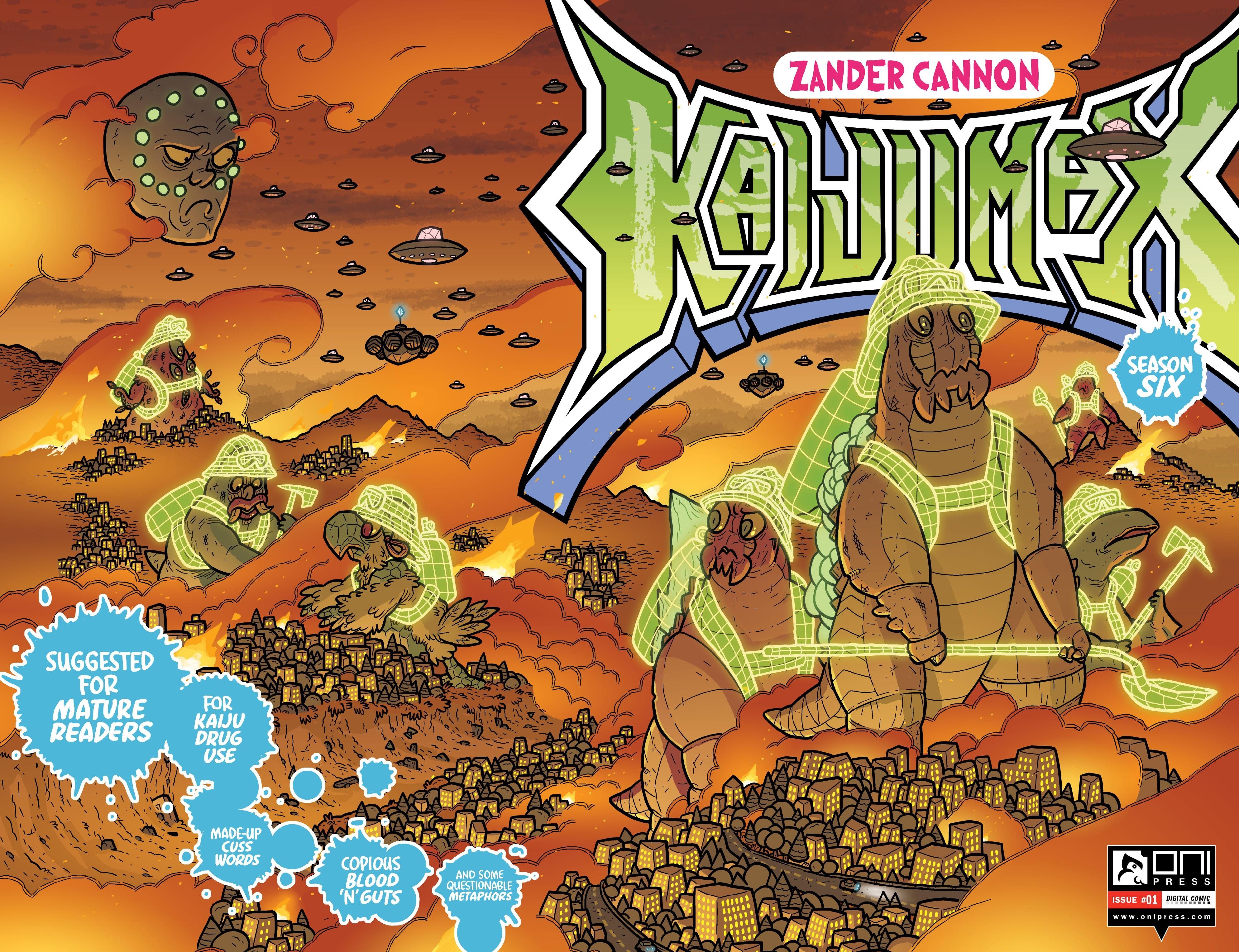 Kaijumax: Season Six issue 1 - Page 1