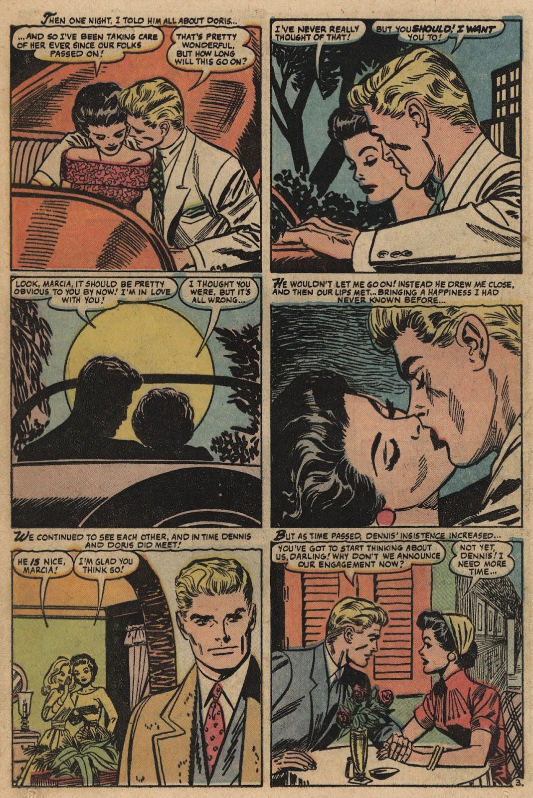 Love Romances (1949) issue 66 - Page 12