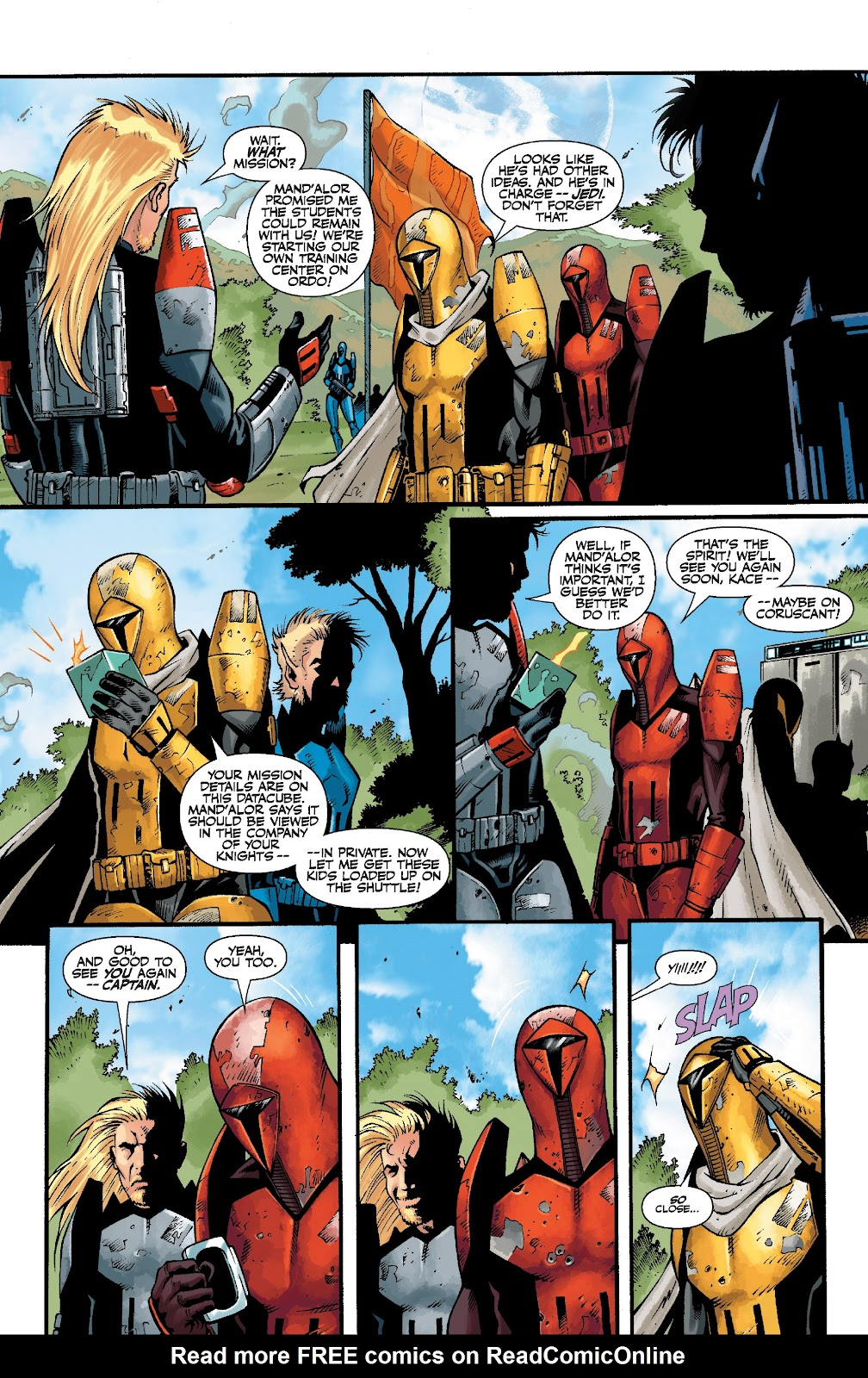 Read online Star Wars Legends: The Old Republic - Epic Collection comic -  Issue # TPB 3 (Part 5) - 3