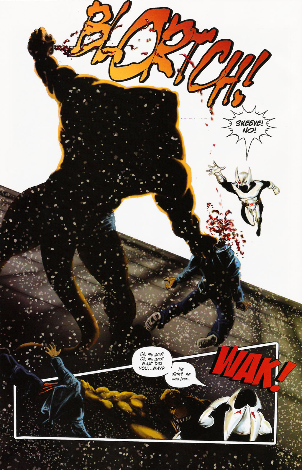 Read online ShadowHawk (2005) comic -  Issue #9 - 20
