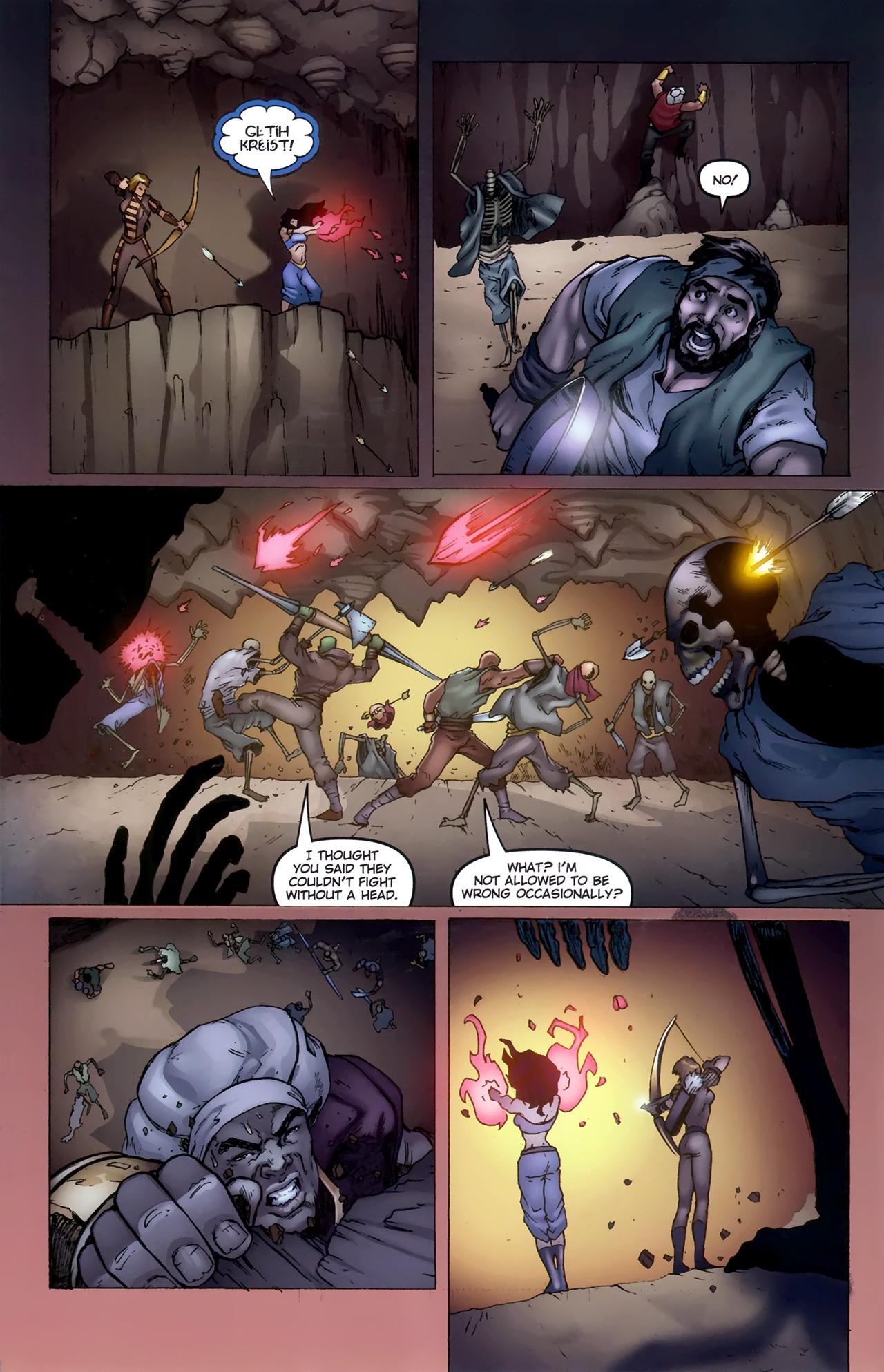 Read online 1001 Arabian Nights: The Adventures of Sinbad comic -  Issue #11 - 14