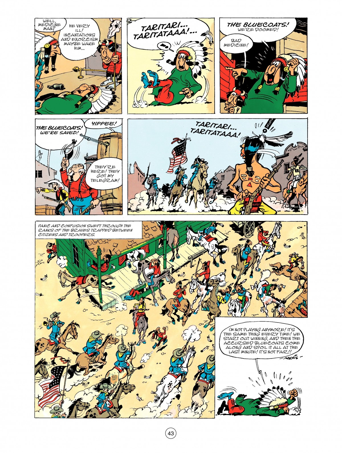 Read online A Lucky Luke Adventure comic -  Issue #43 - 43