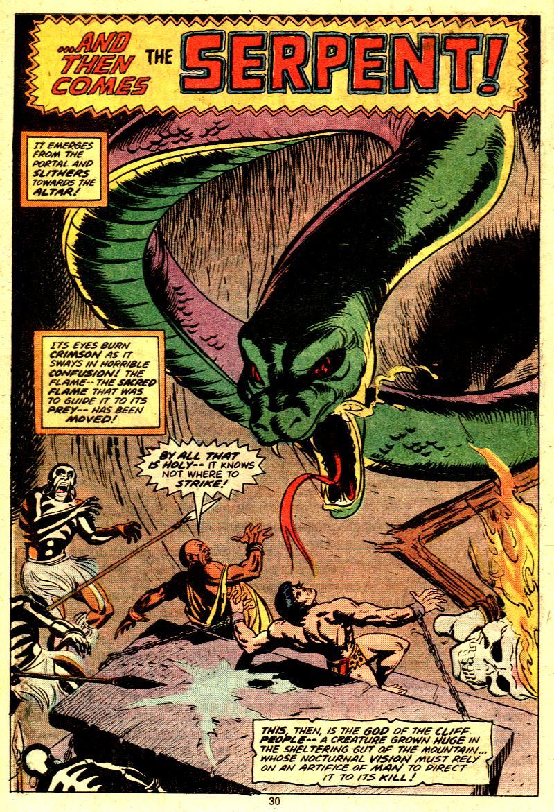 Read online Tarzan (1977) comic -  Issue # _Annual 2 - 24