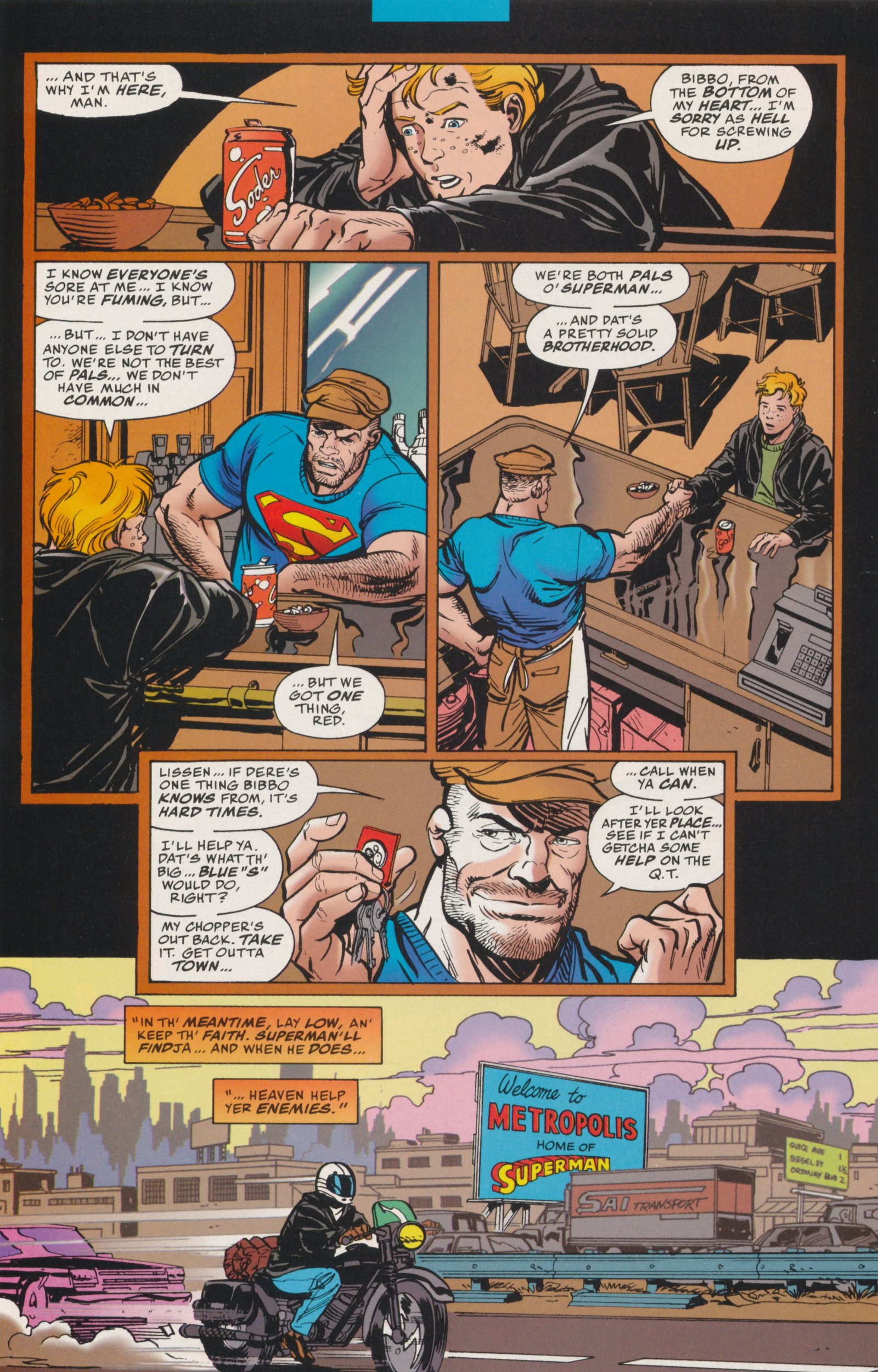 Read online Action Comics (1938) comic -  Issue #737 - 32