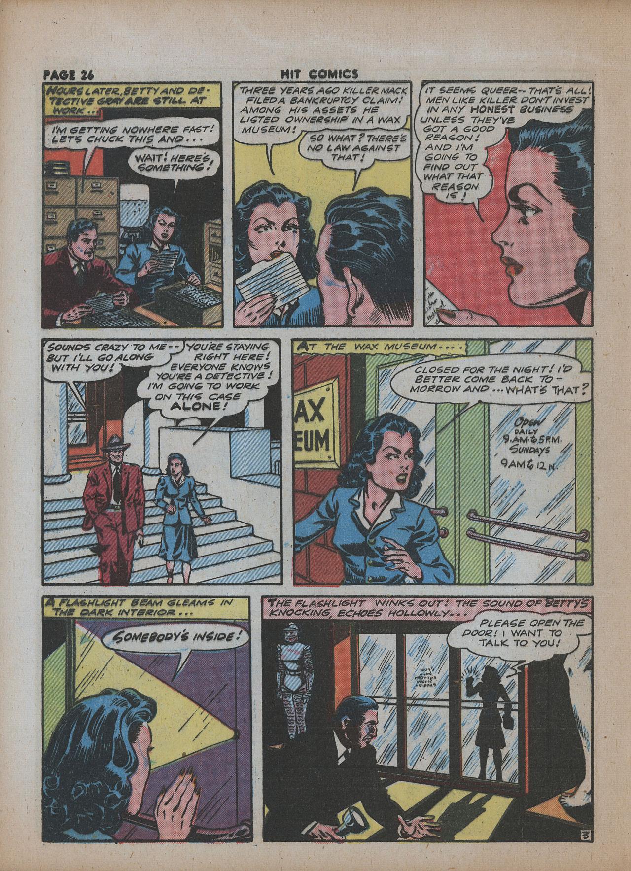Read online Hit Comics comic -  Issue #26 - 28
