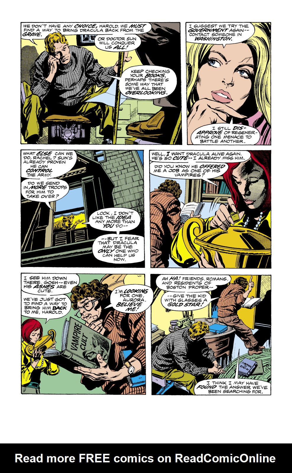 Tomb of Dracula (1972) issue 41 - Page 3