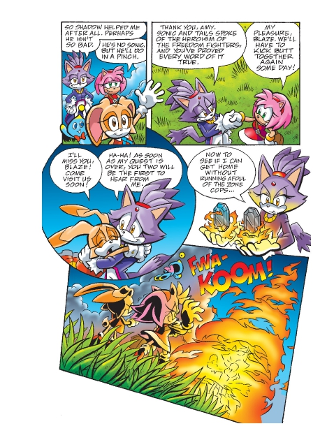Read online Sonic Comics Spectacular: Speed of Sound comic -  Issue # Full - 211