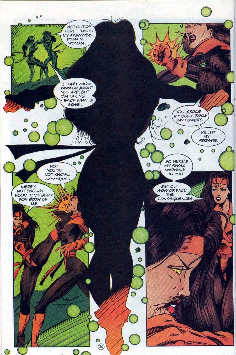 Read online Ex-Mutants comic -  Issue #17 - 21
