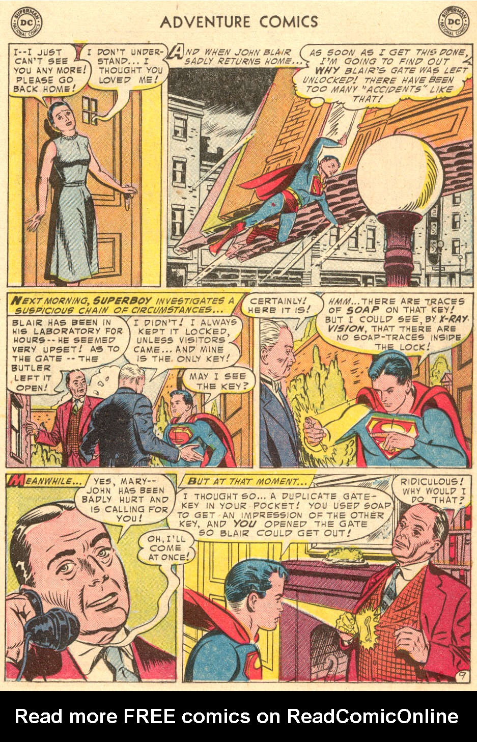 Read online Adventure Comics (1938) comic -  Issue #208 - 11