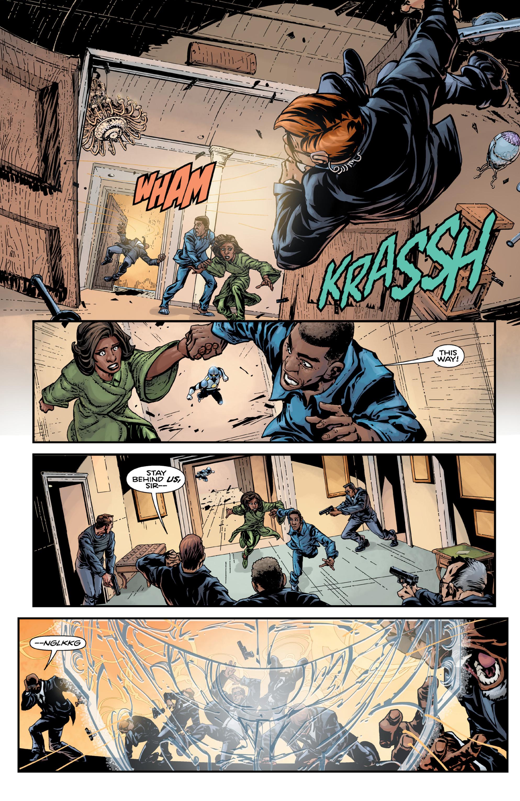 Read online Brain Boy:  The Men from G.E.S.T.A.L.T. comic -  Issue # TPB - 14