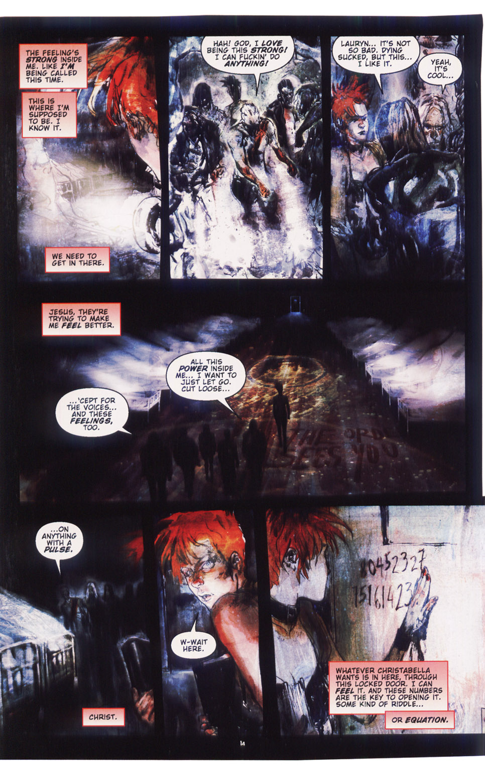 Read online Silent Hill: Dying Inside comic -  Issue #5 - 12