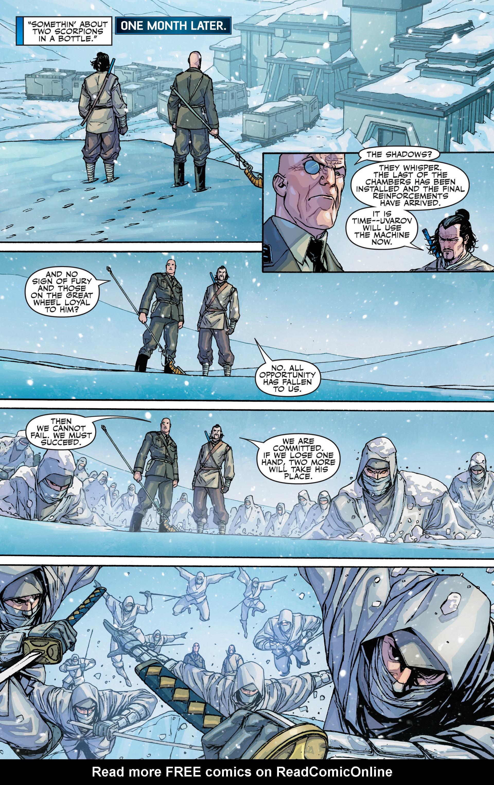Read online Secret Warriors comic -  Issue #25 - 27