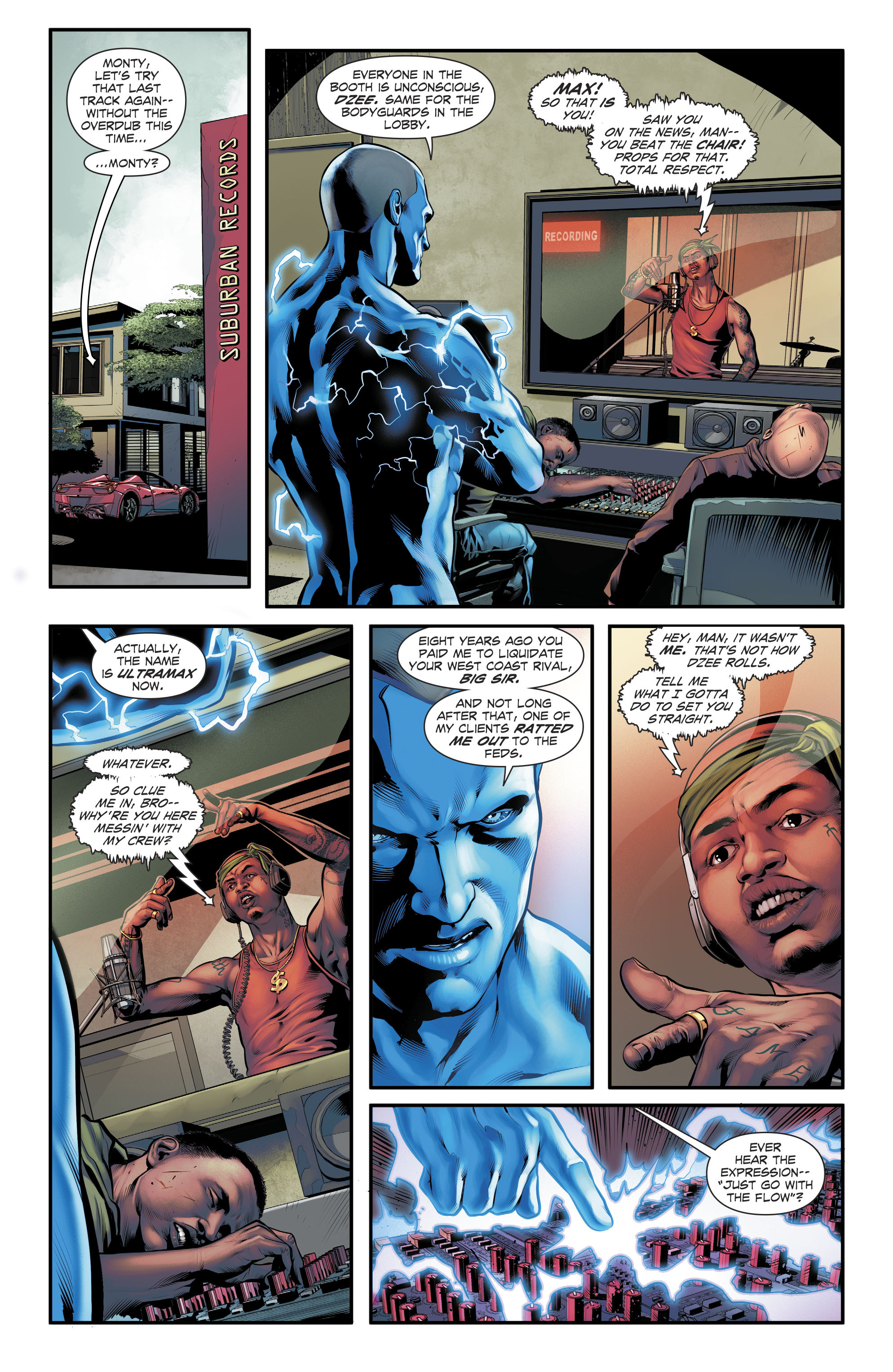 Read online The Fall and Rise of Captain Atom comic -  Issue #5 - 9