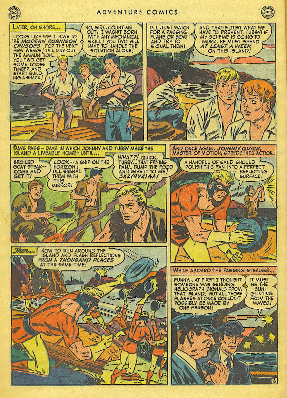 Read online Adventure Comics (1938) comic -  Issue #155 - 22