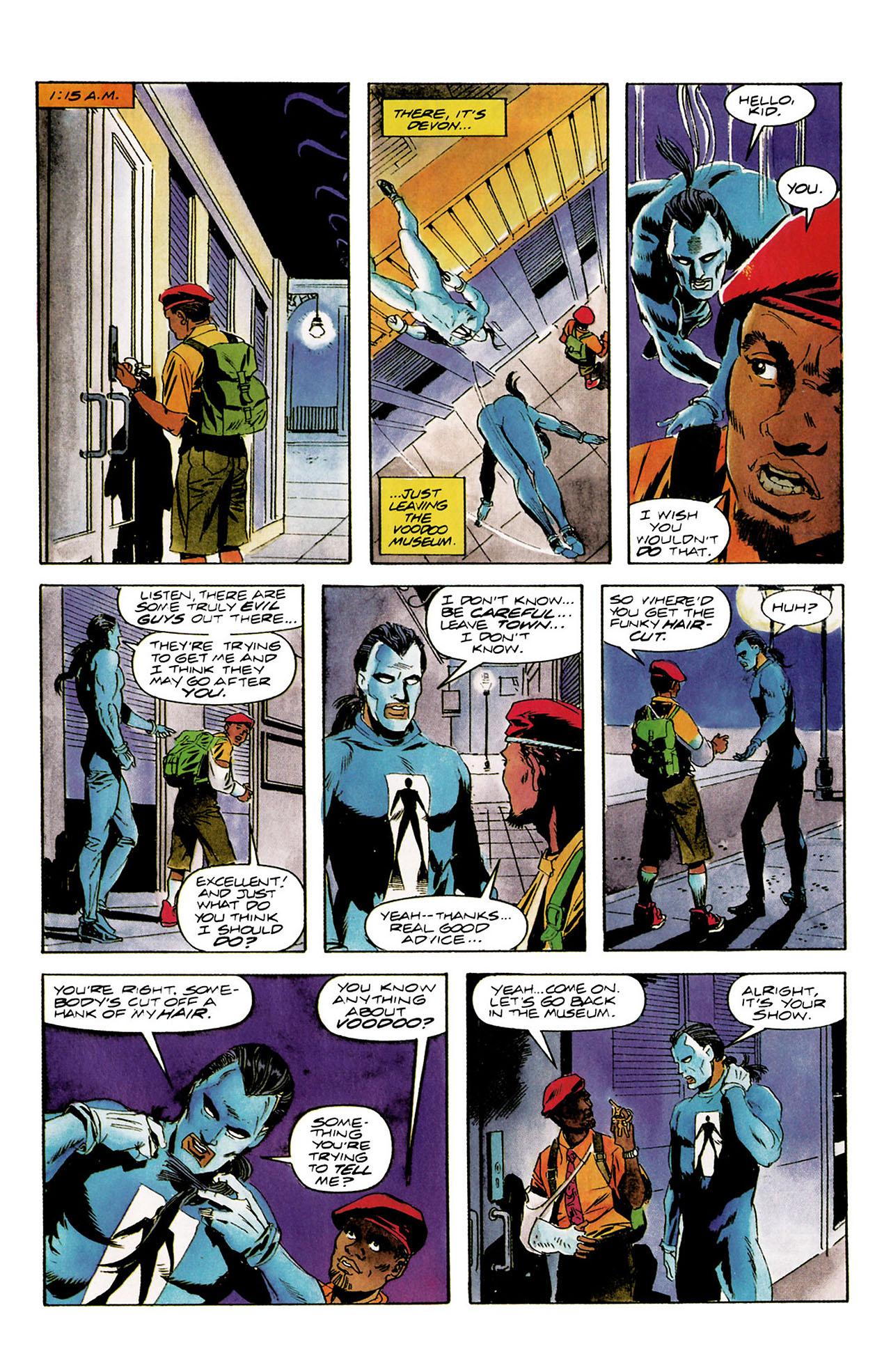 Read online Shadowman (1992) comic -  Issue #8 - 18