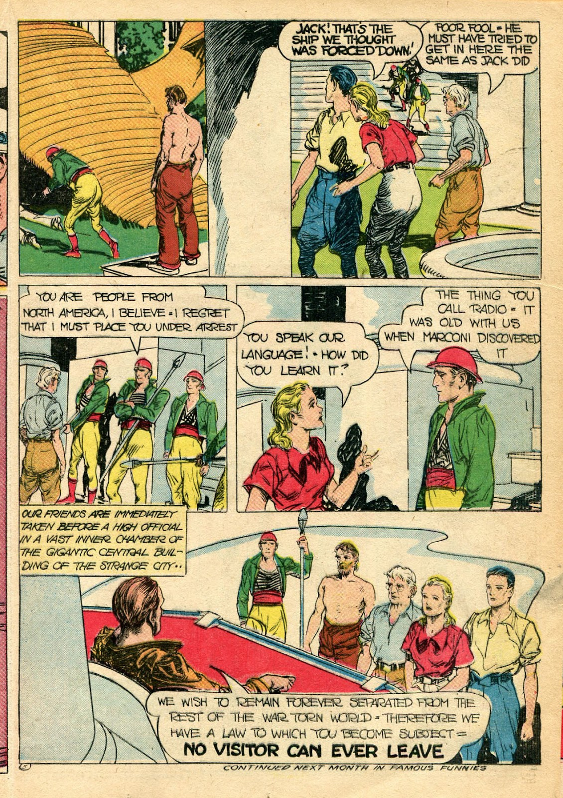Read online Famous Funnies comic -  Issue #110 - 33