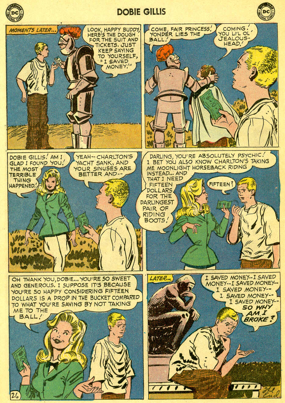 Many Loves of Dobie Gillis issue 4 - Page 32