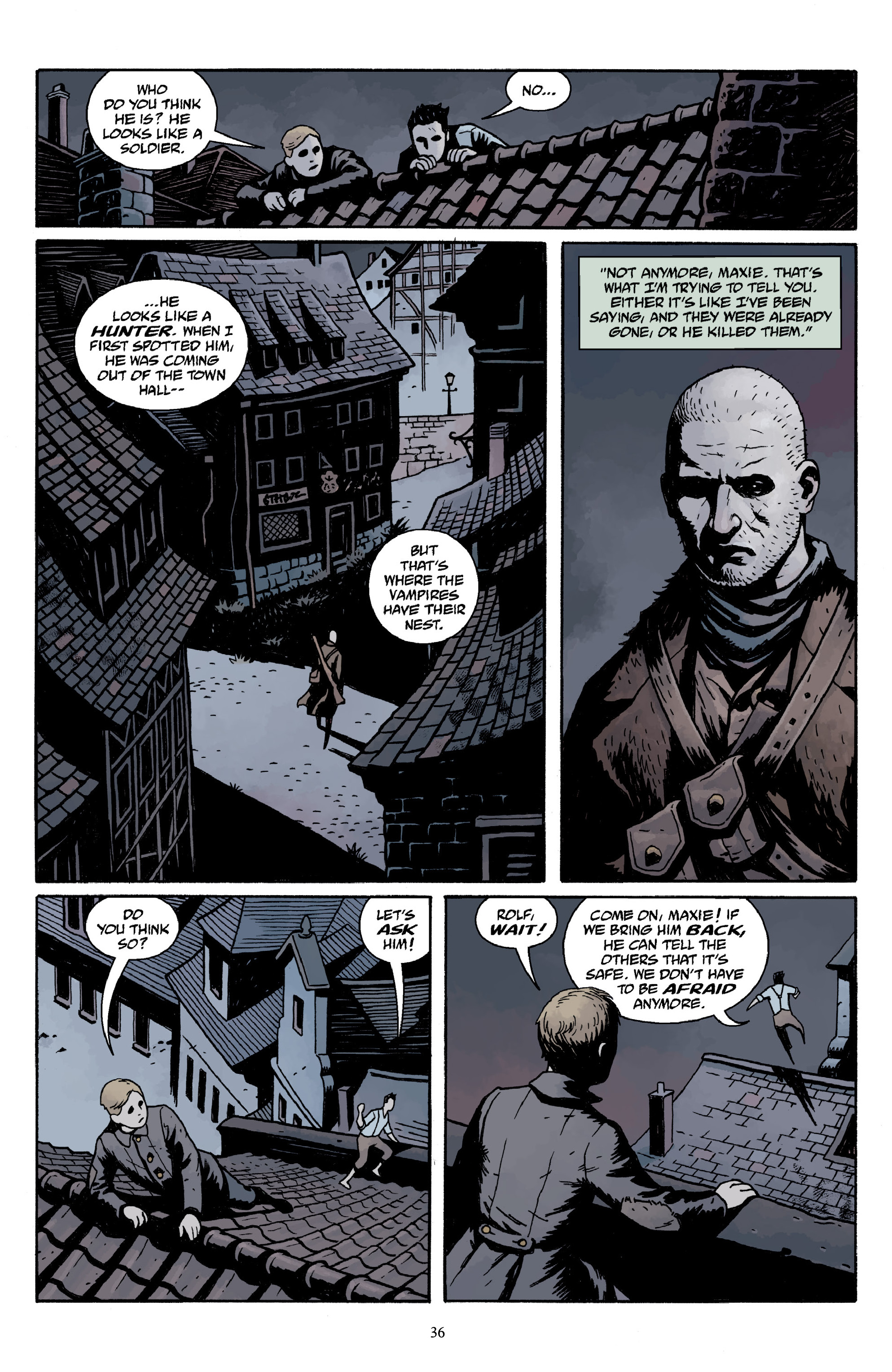 Read online Baltimore Volume 3: A Passing Stranger and Other Stories comic -  Issue # Full - 38