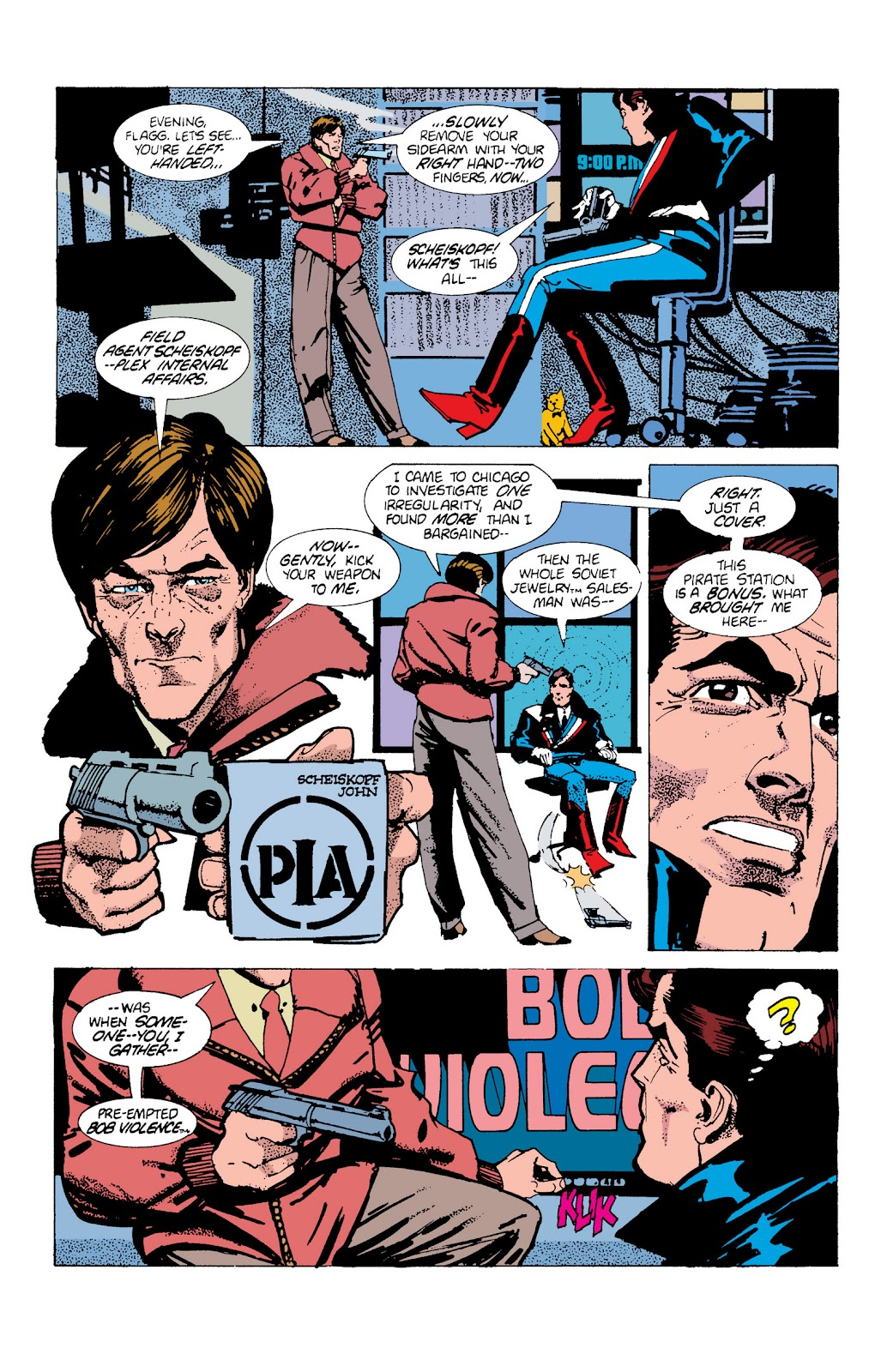 American Flagg! issue Definitive Collection (Part 2) - Page 5