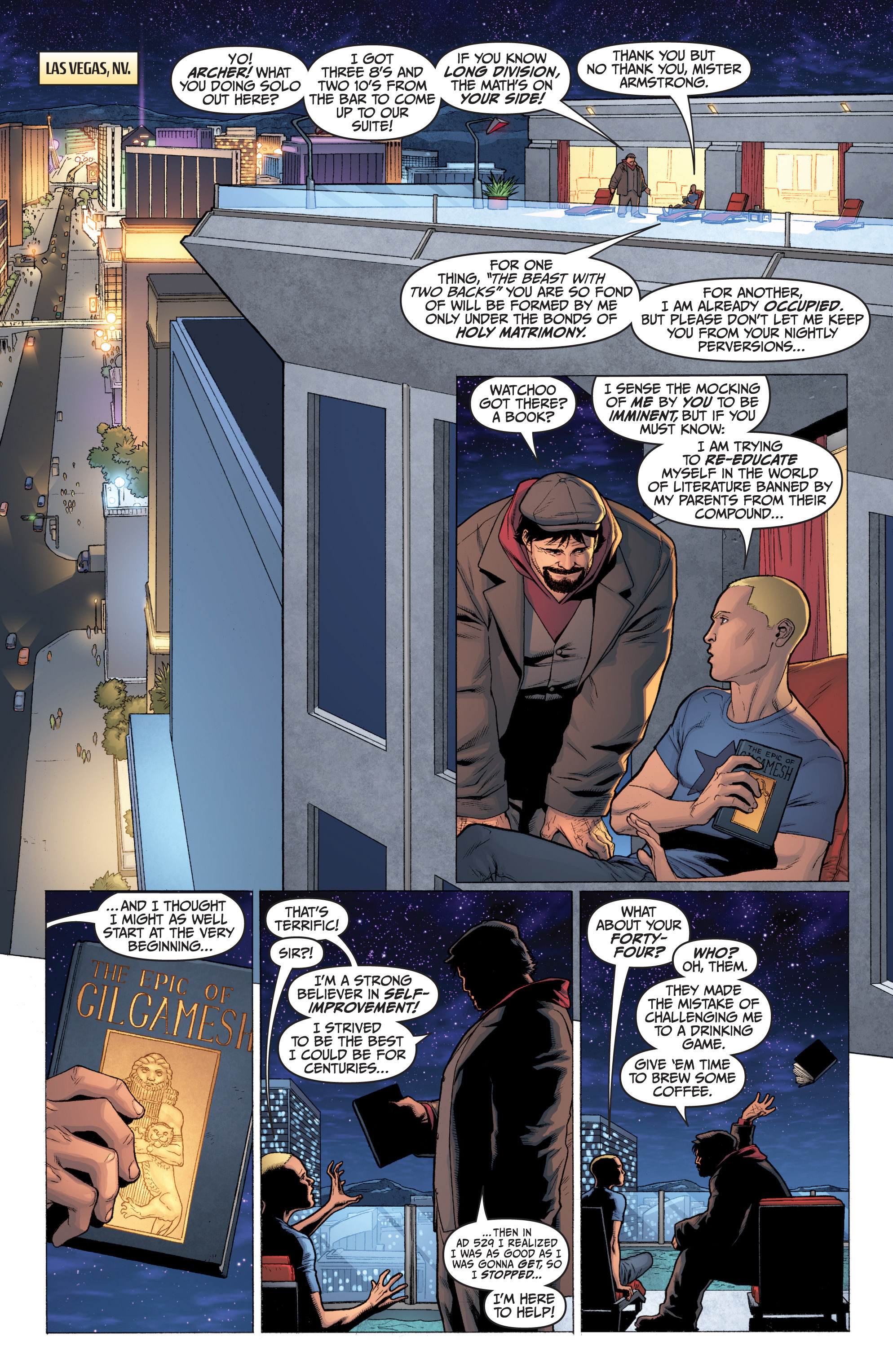 Read online Archer and Armstrong comic -  Issue #0 - 3