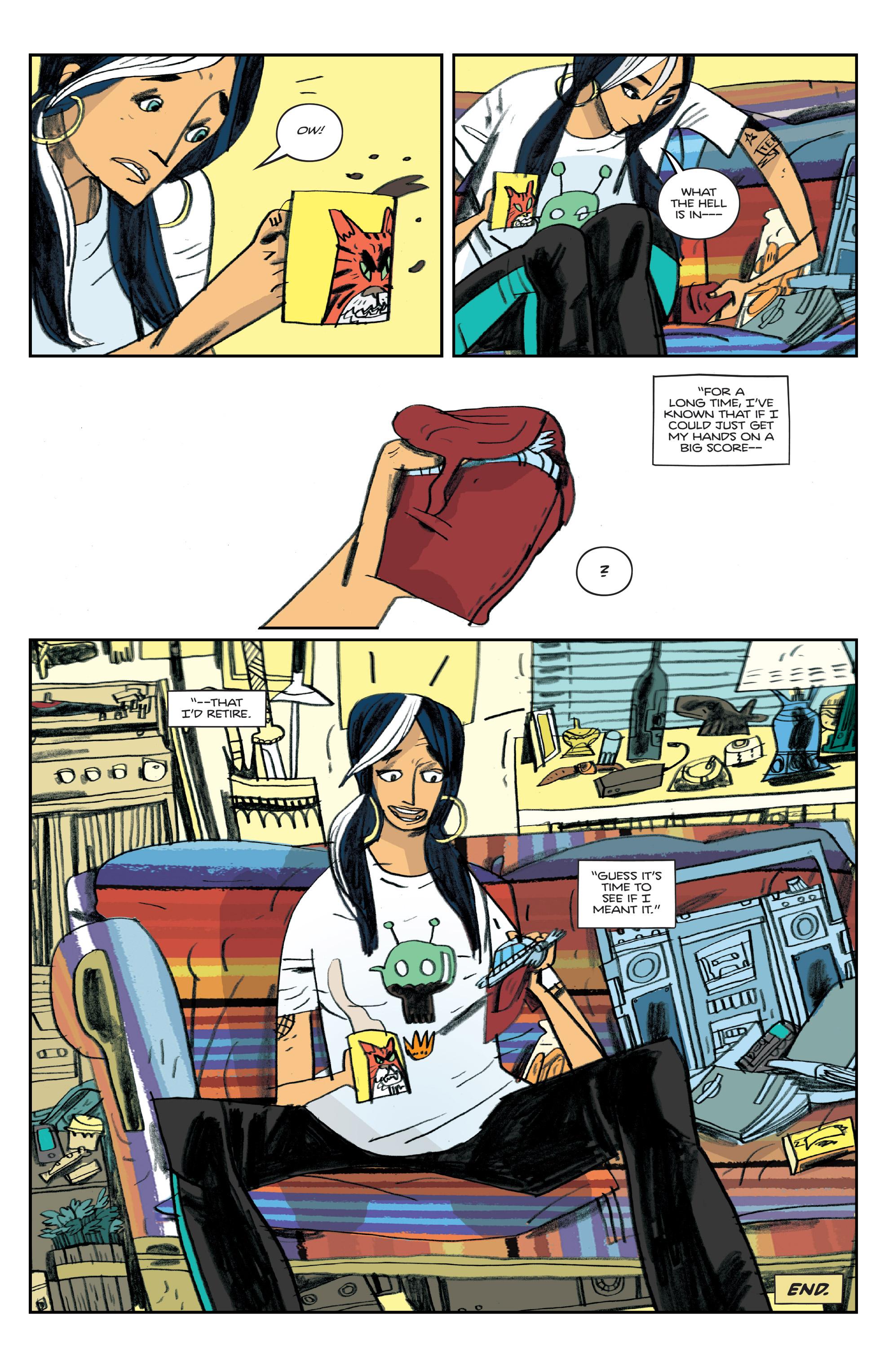 Read online Helena Crash comic -  Issue #4 - 24