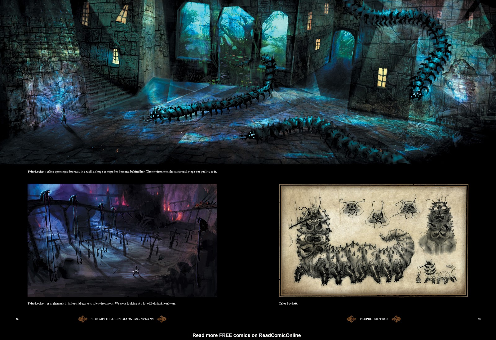 Read online The Art of Alice: Madness Returns comic -  Issue # TPB (Part 1) - 31