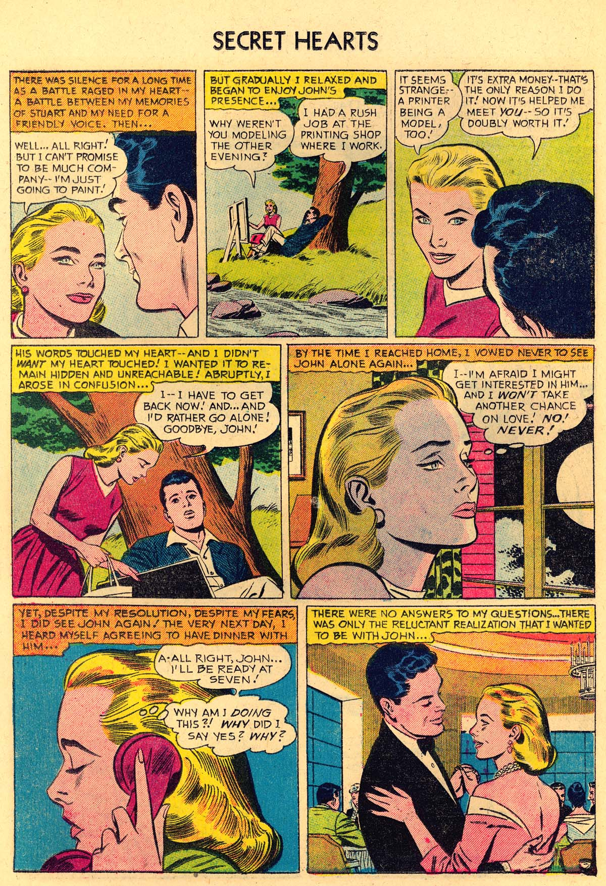 Read online Secret Hearts comic -  Issue #35 - 22