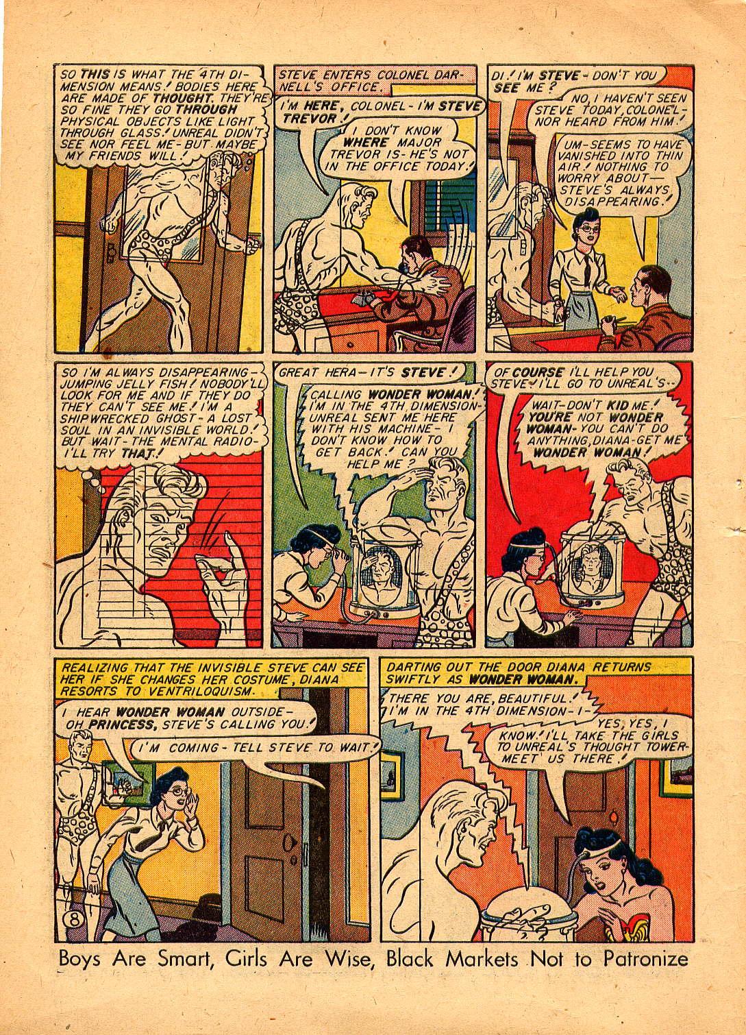 Read online Sensation (Mystery) Comics comic -  Issue #30 - 10
