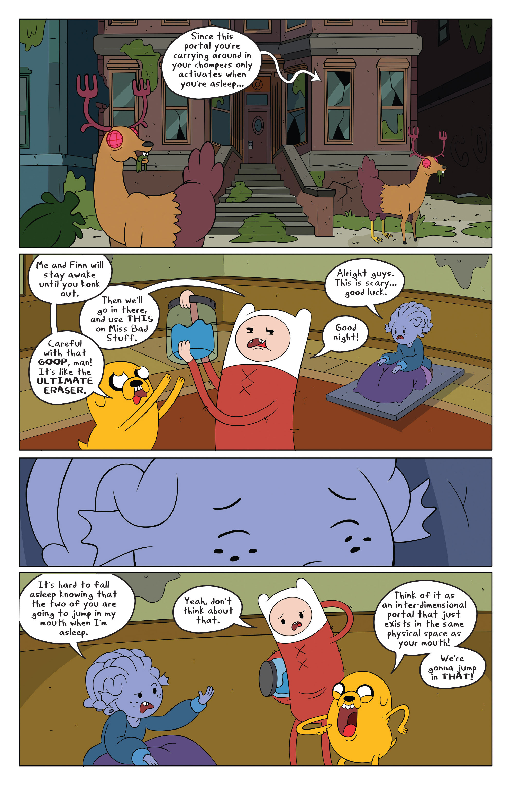 Read online Adventure Time comic -  Issue #49 - 4