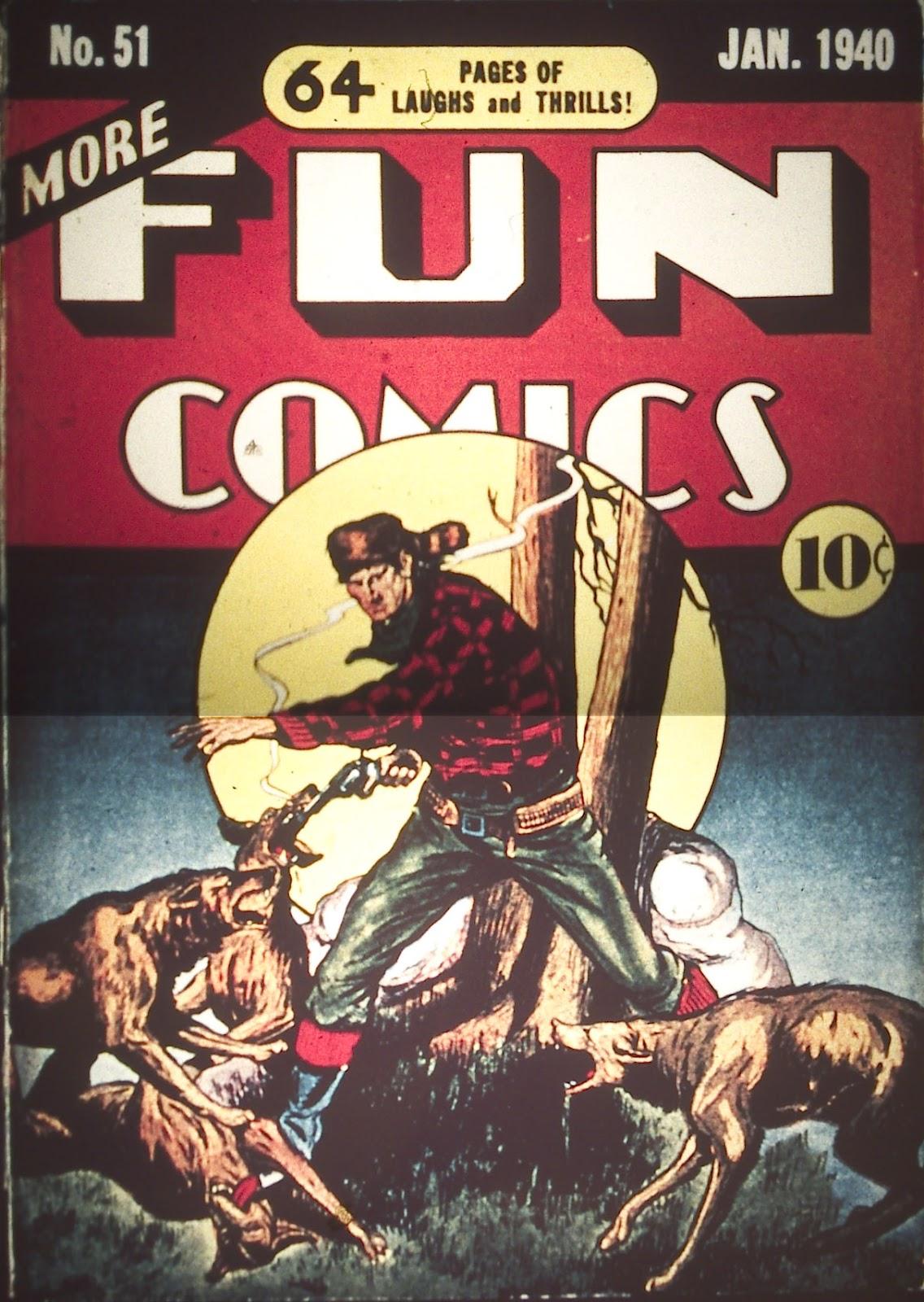 More Fun Comics 51 Page 1