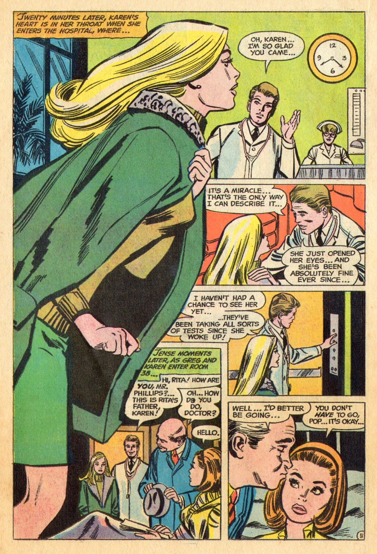 Read online Secret Hearts comic -  Issue #136 - 22