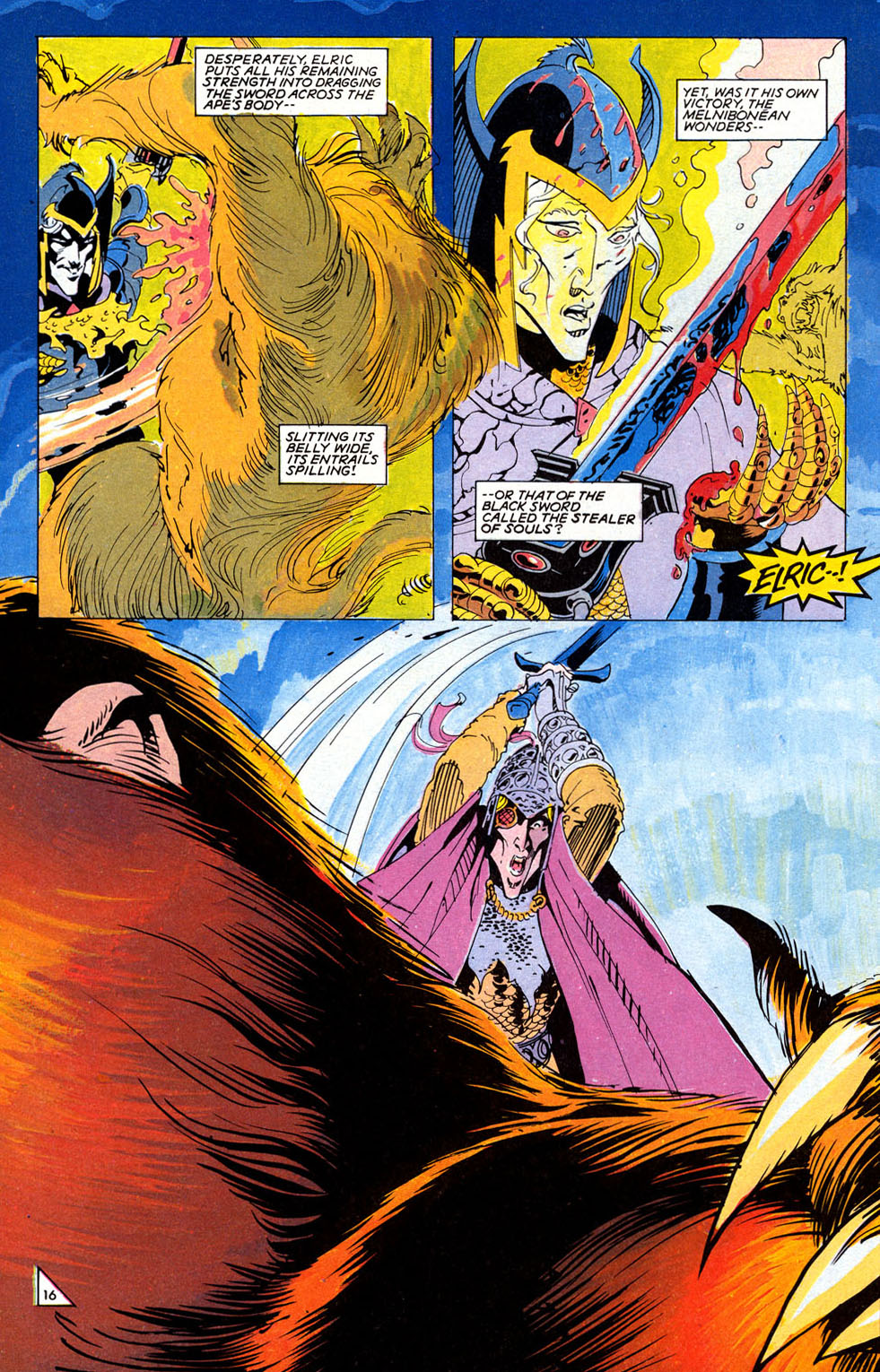 Read online Elric: Sailor on the Seas of Fate comic -  Issue #2 - 19