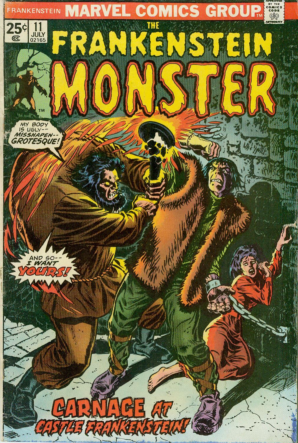 Frankenstein (1973) issue 11 - Page 1