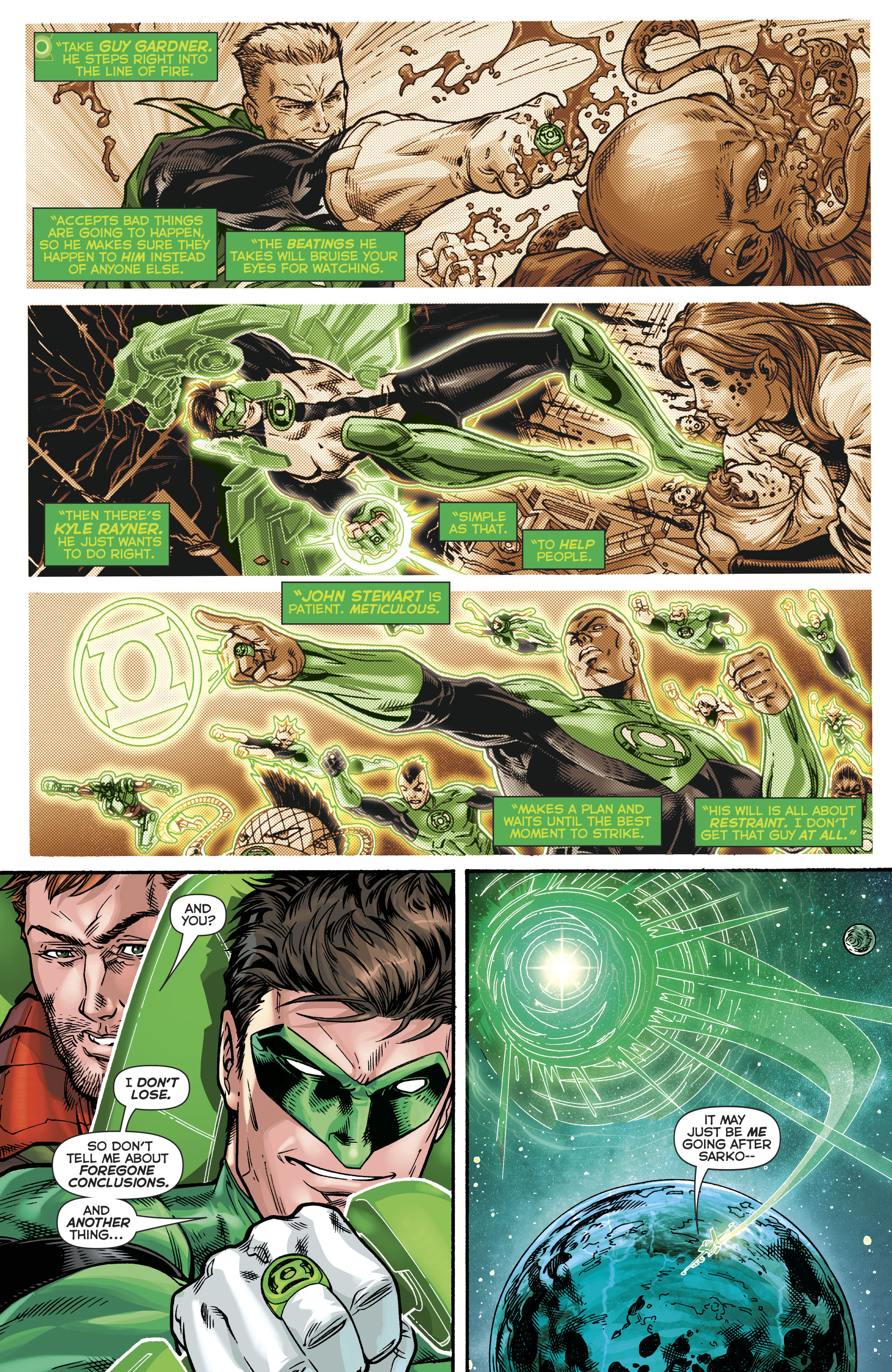 Read online Hal Jordan And The Green Lantern Corps comic -  Issue #21 - 5