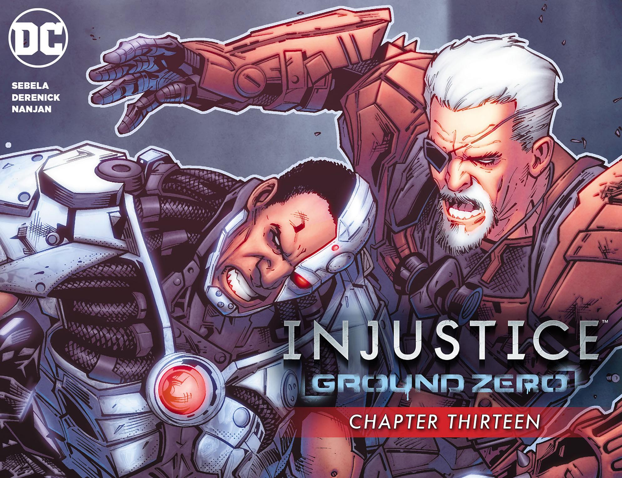 Read online Injustice: Ground Zero comic -  Issue #13 - 1