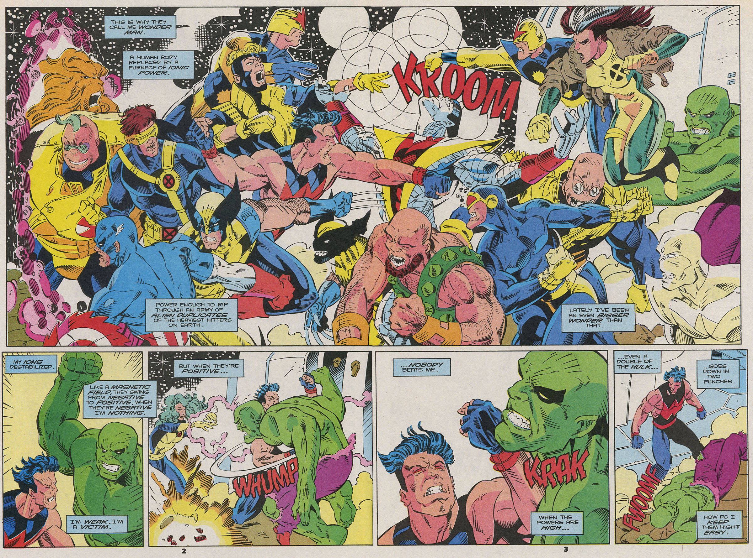 Read online Wonder Man (1991) comic -  Issue #15 - 3