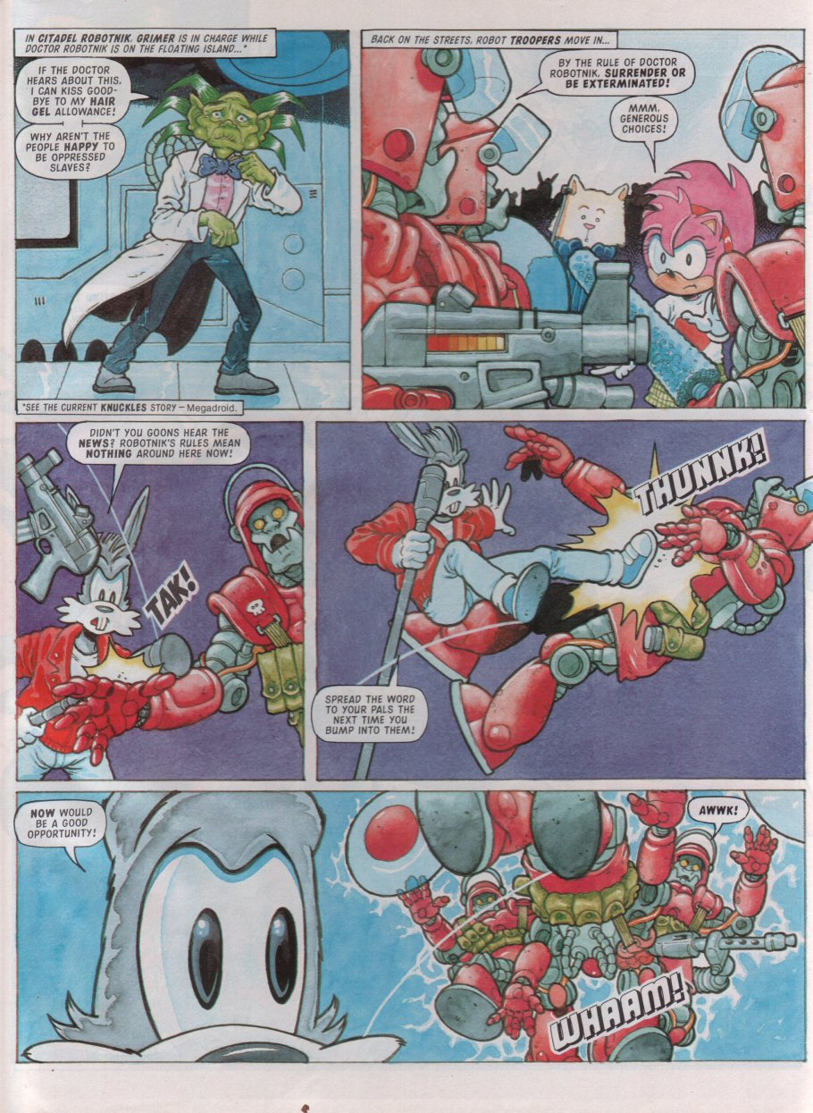 Read online Sonic the Comic comic -  Issue #99 - 23