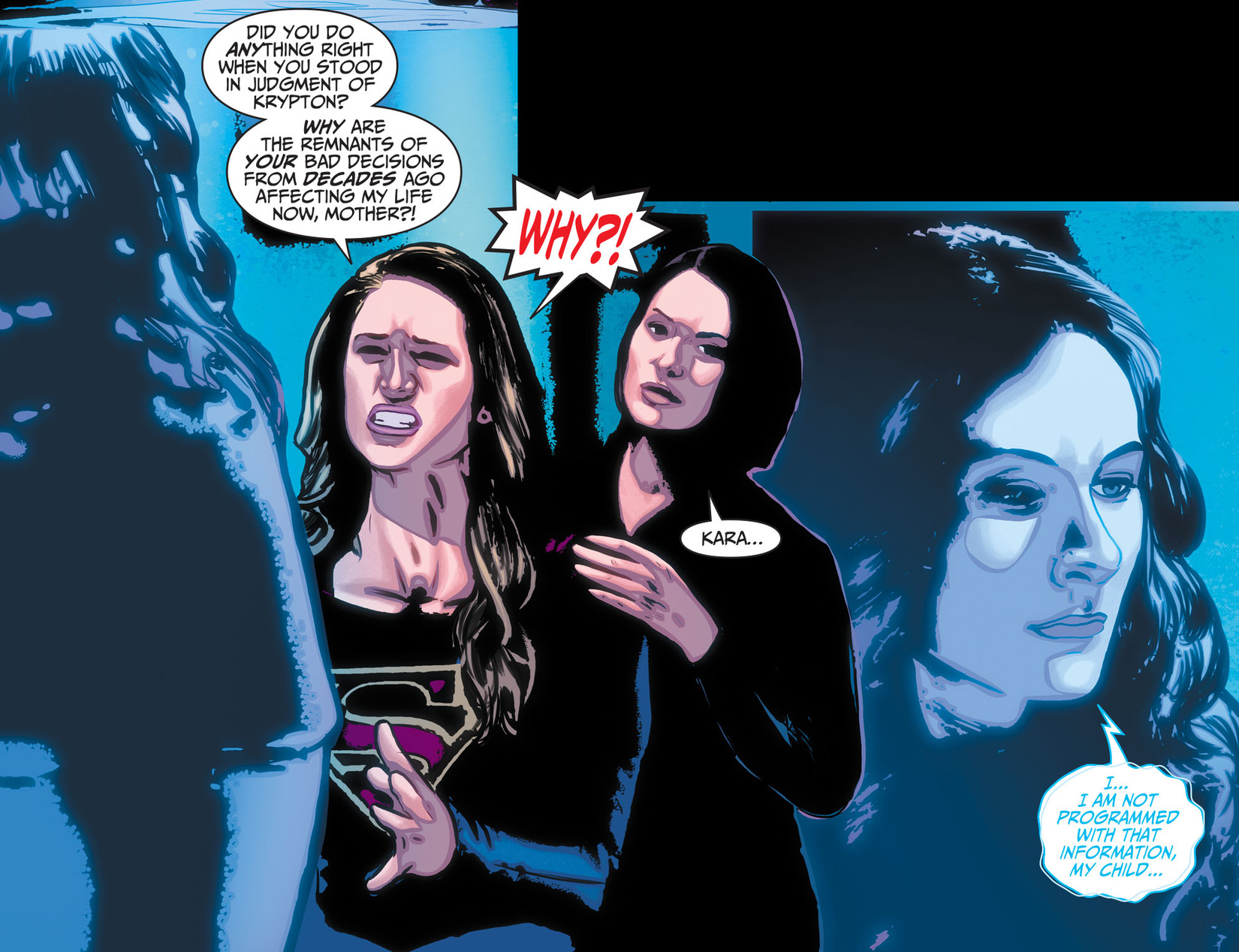Read online Adventures of Supergirl comic -  Issue #10 - 20