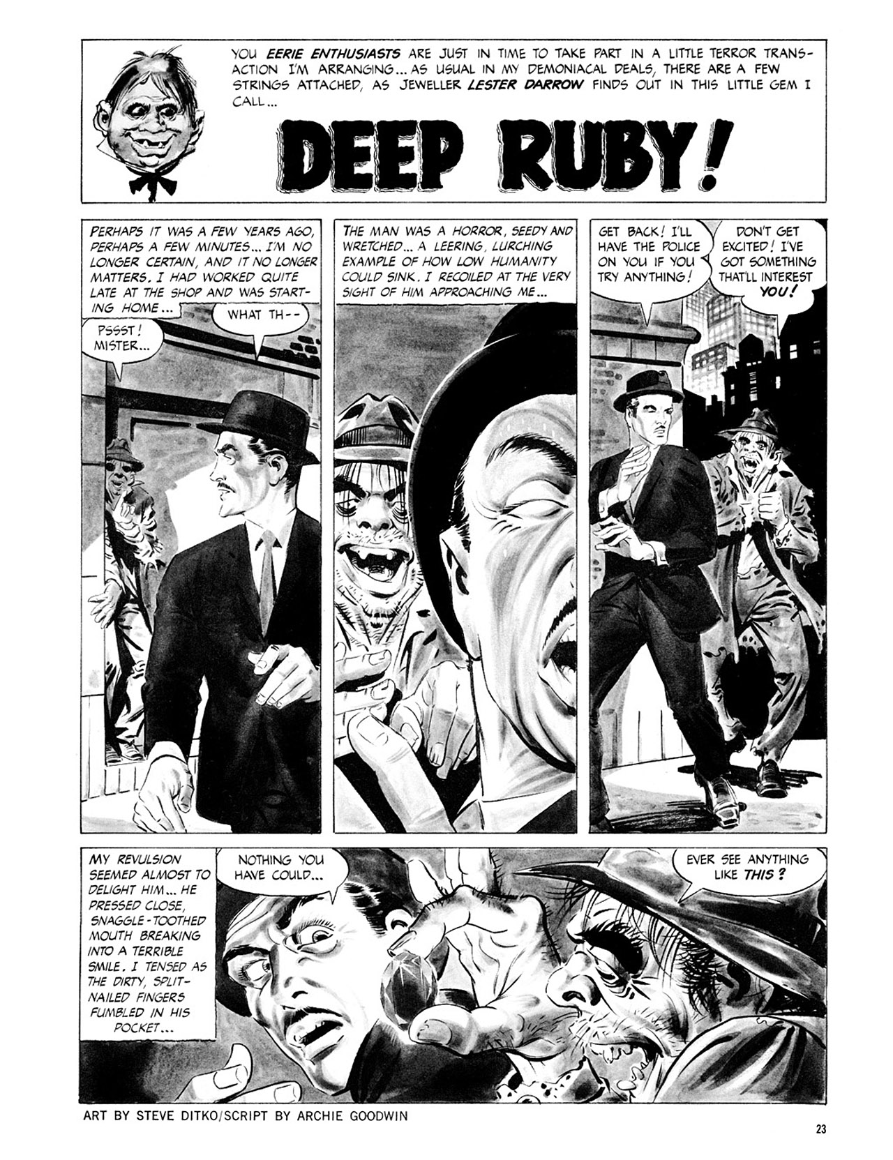 Read online Eerie Archives comic -  Issue # TPB 2 - 24