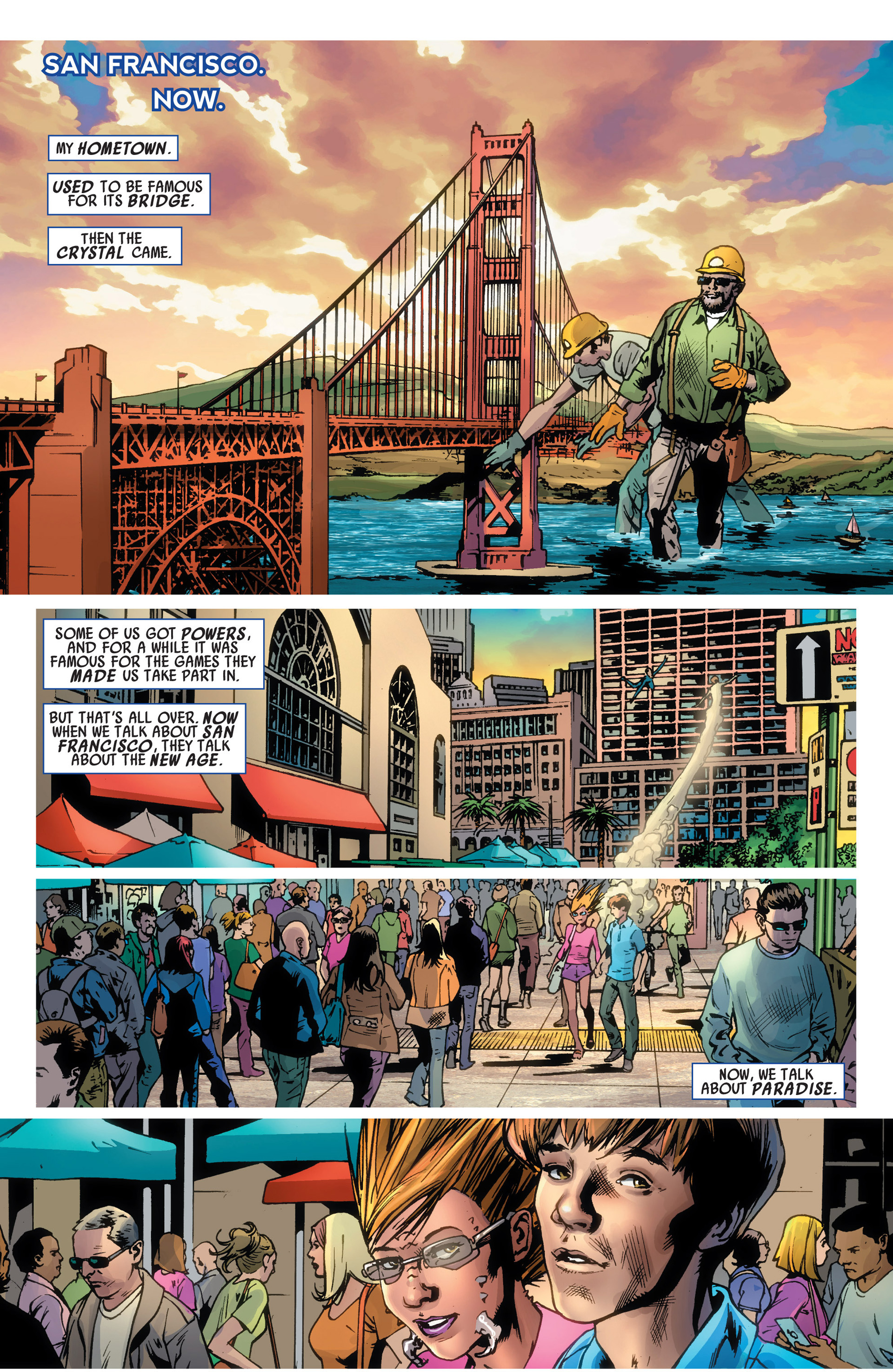 Read online America's Got Powers comic -  Issue #6 - 3