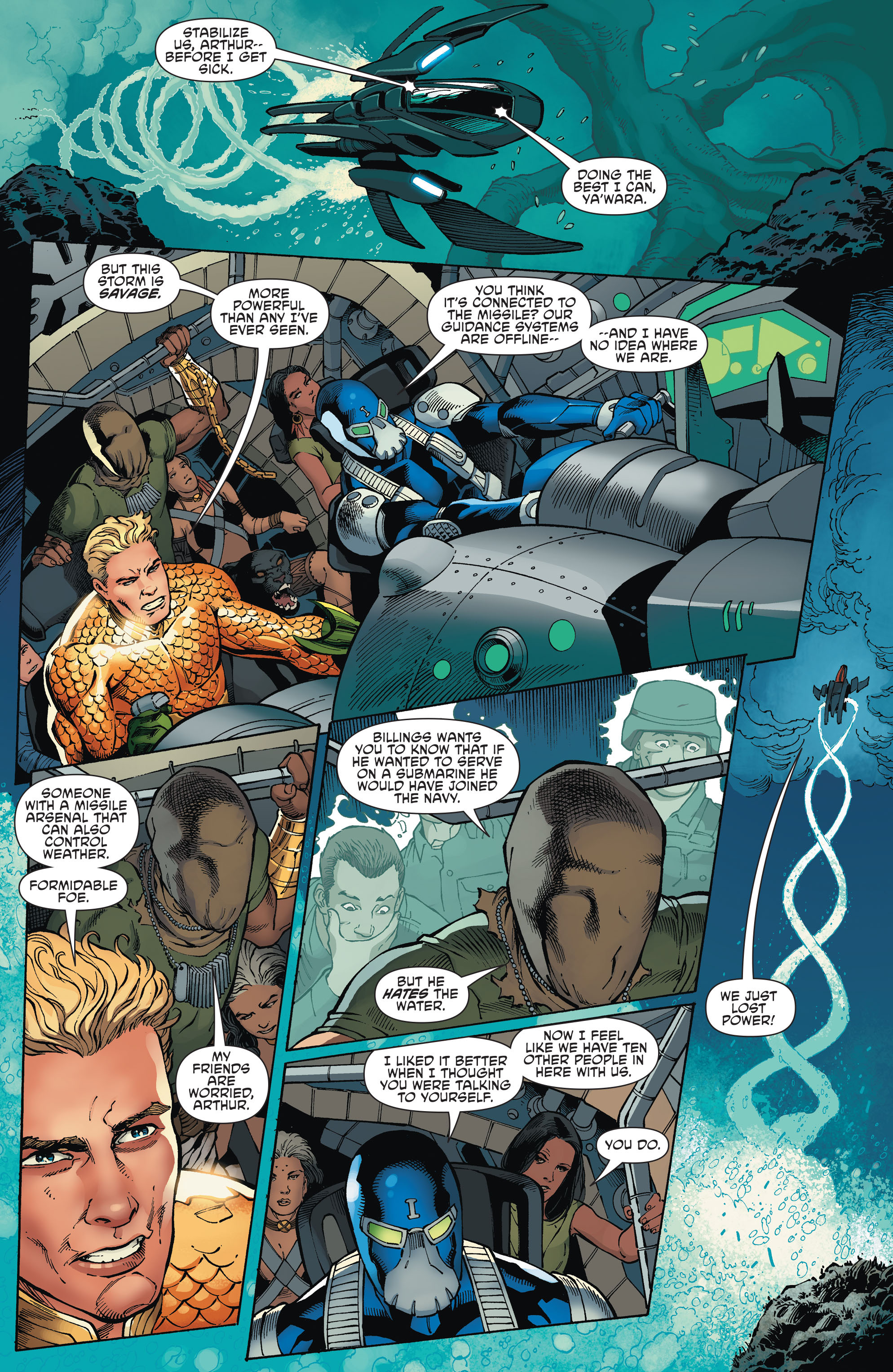 Read online Aquaman and the Others comic -  Issue #2 - 17