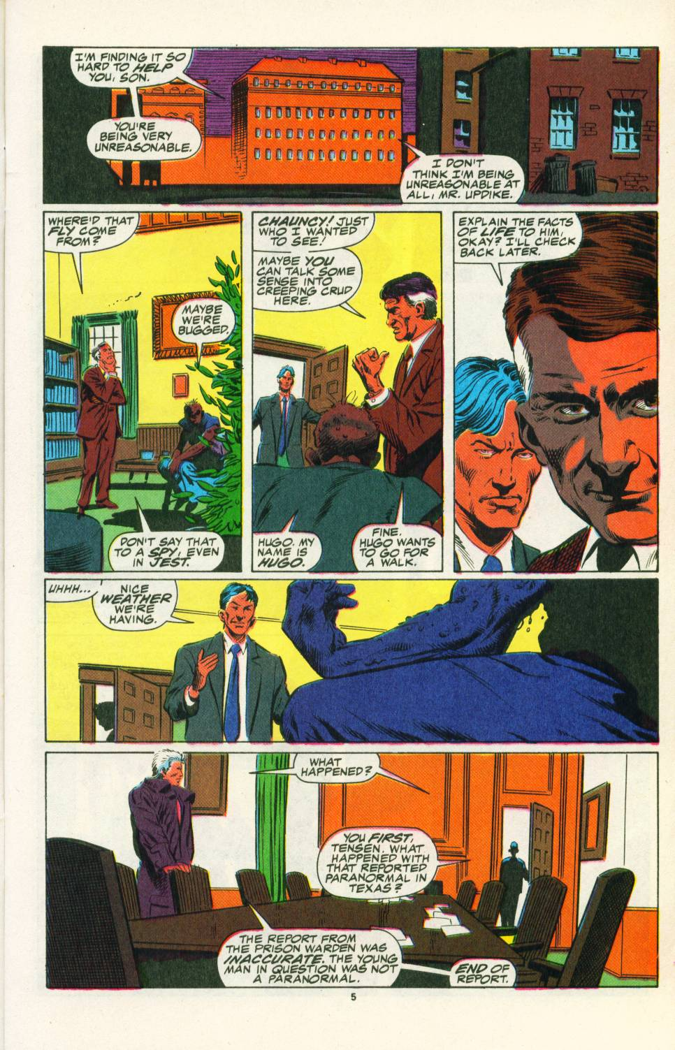 Read online Justice (1986) comic -  Issue #25 - 7