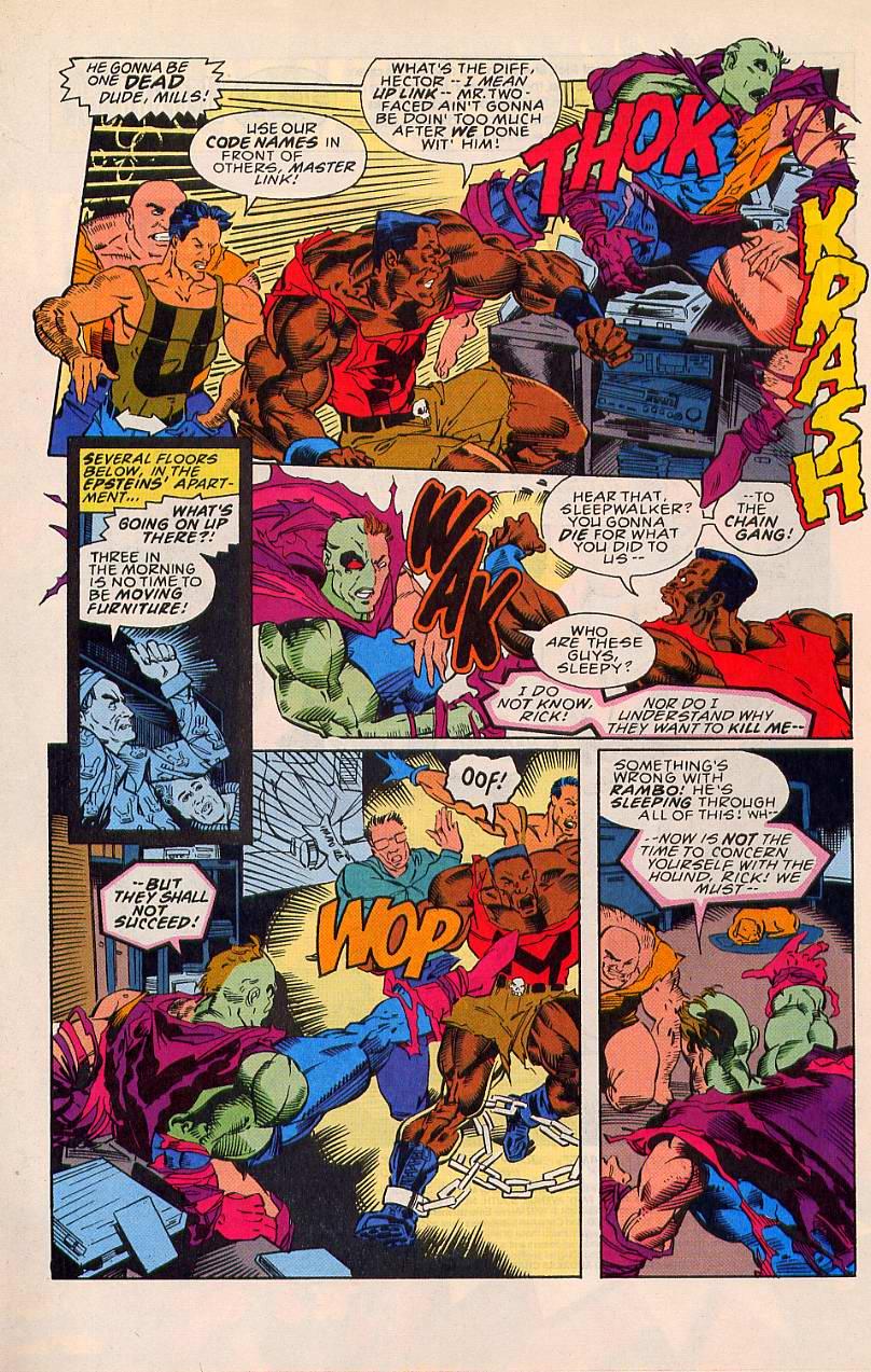 Read online Sleepwalker comic -  Issue #20 - 3