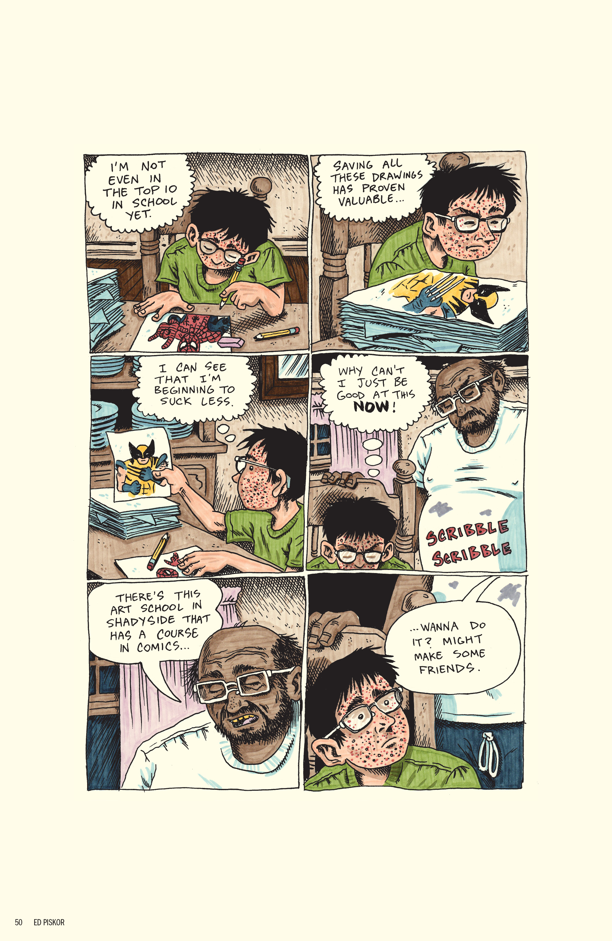 Read online Free Comic Book Day 2017 comic -  Issue # World's Greatest Cartoonists - 51