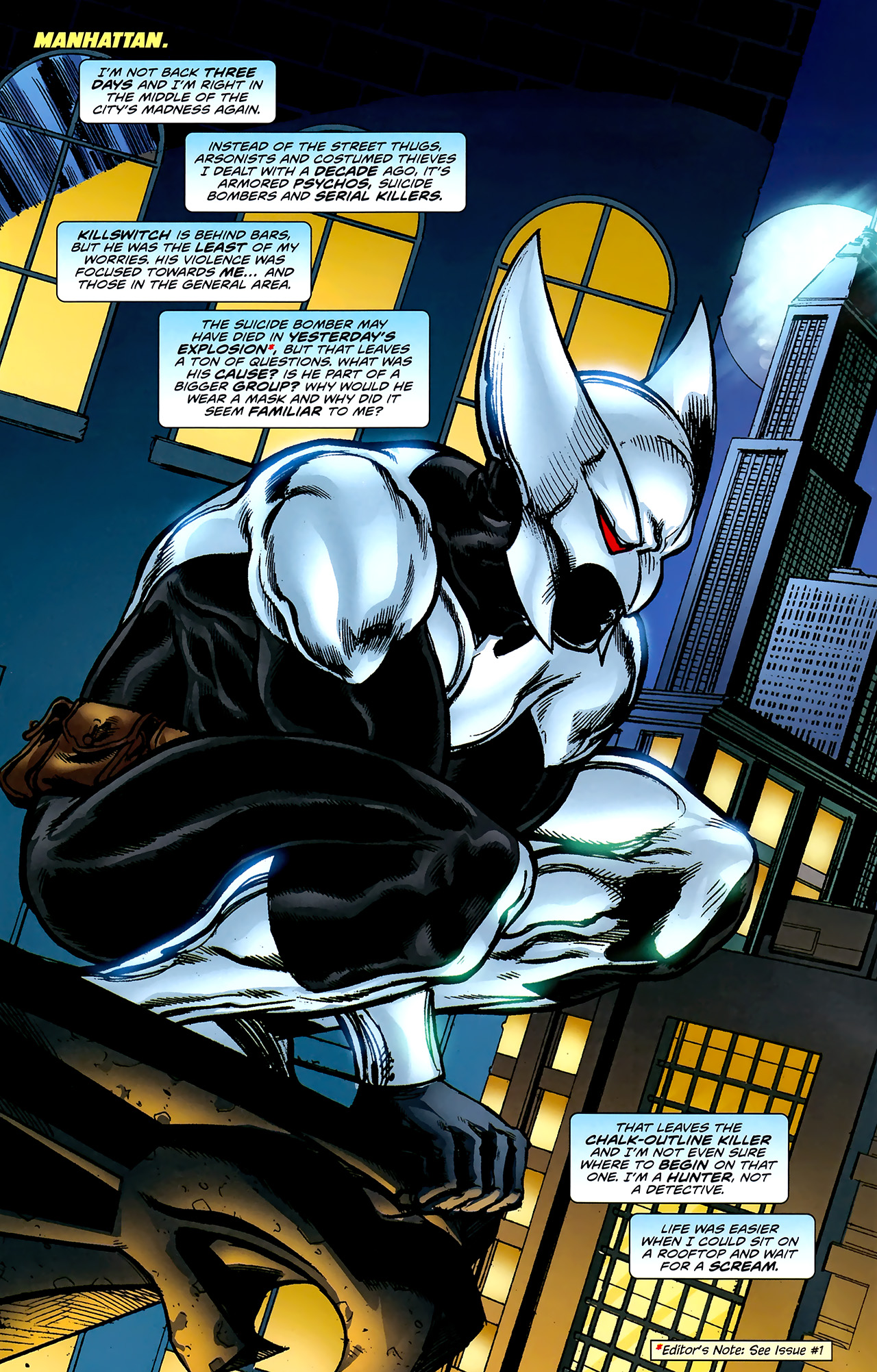 Read online ShadowHawk (2010) comic -  Issue #2 - 7