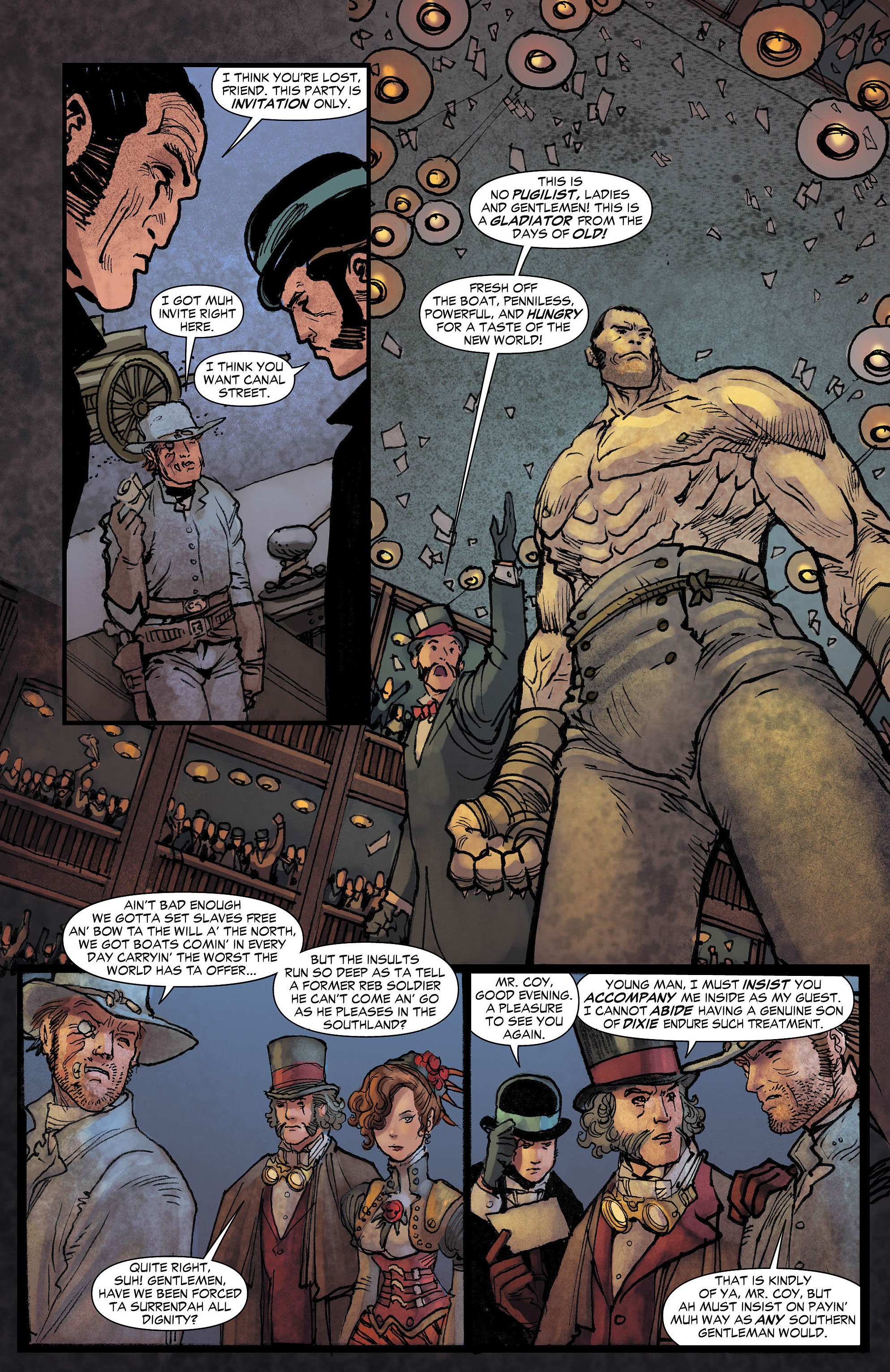 Read online All-Star Western (2011) comic -  Issue #7 - 10