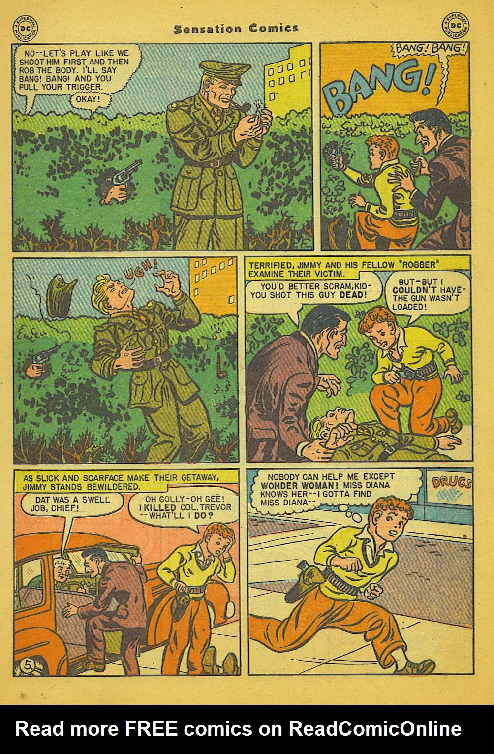 Read online Sensation (Mystery) Comics comic -  Issue #66 - 7